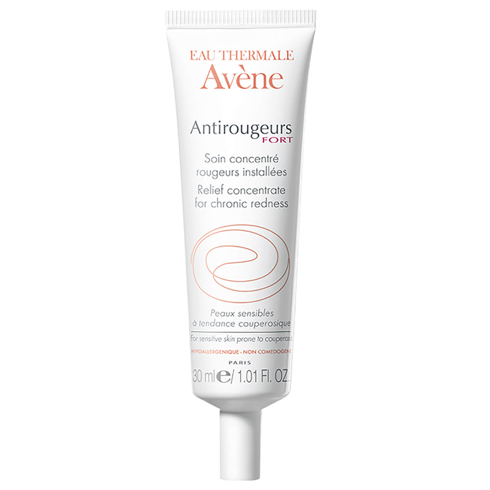 Avene Antirougeurs Fort Relief Concentrate For Chronic Redness