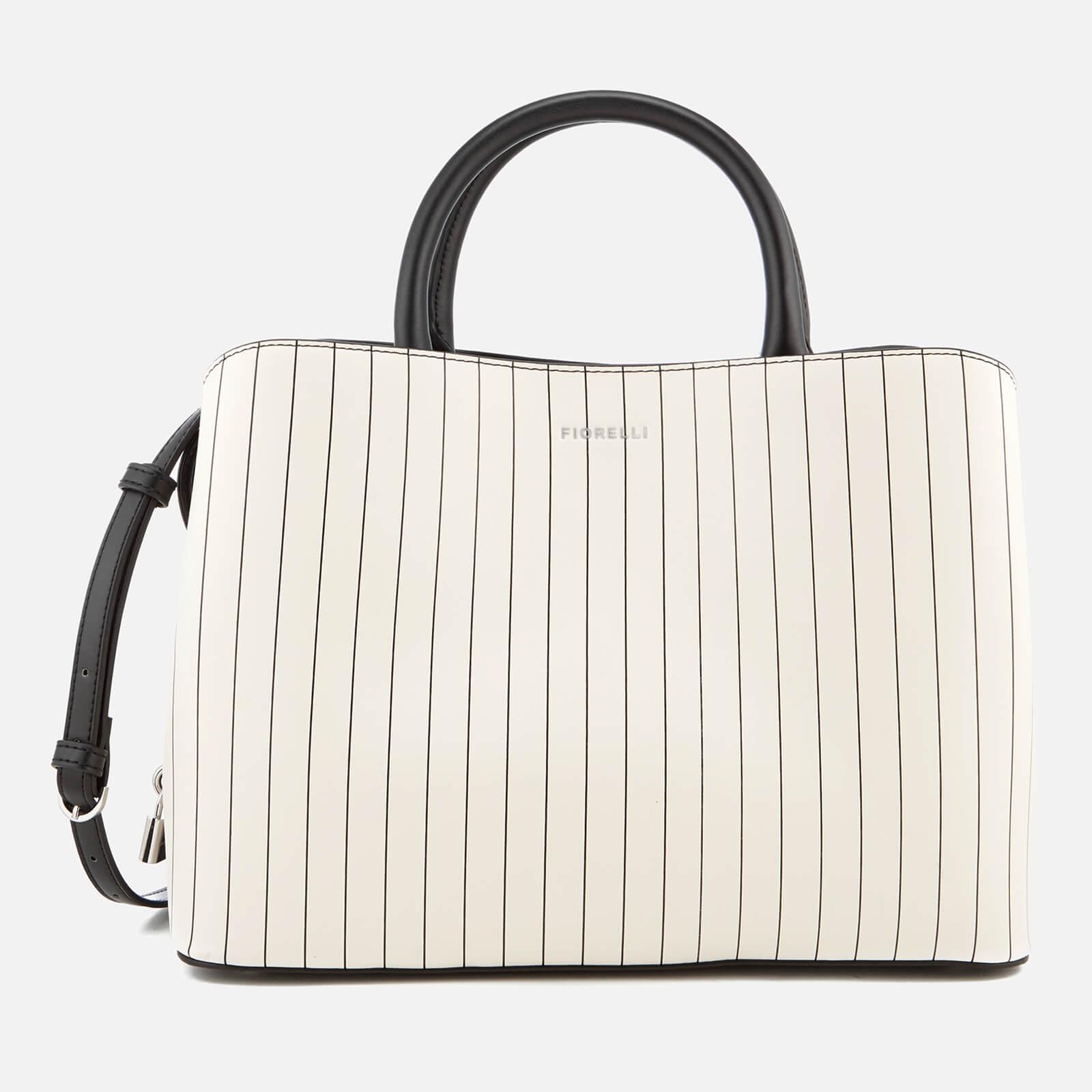652d2d9f7fb3 Fiorelli Women's Bethnal Triple Compartment Tote Bag - Pin Stripe Mix  Clothing | TheHut.com