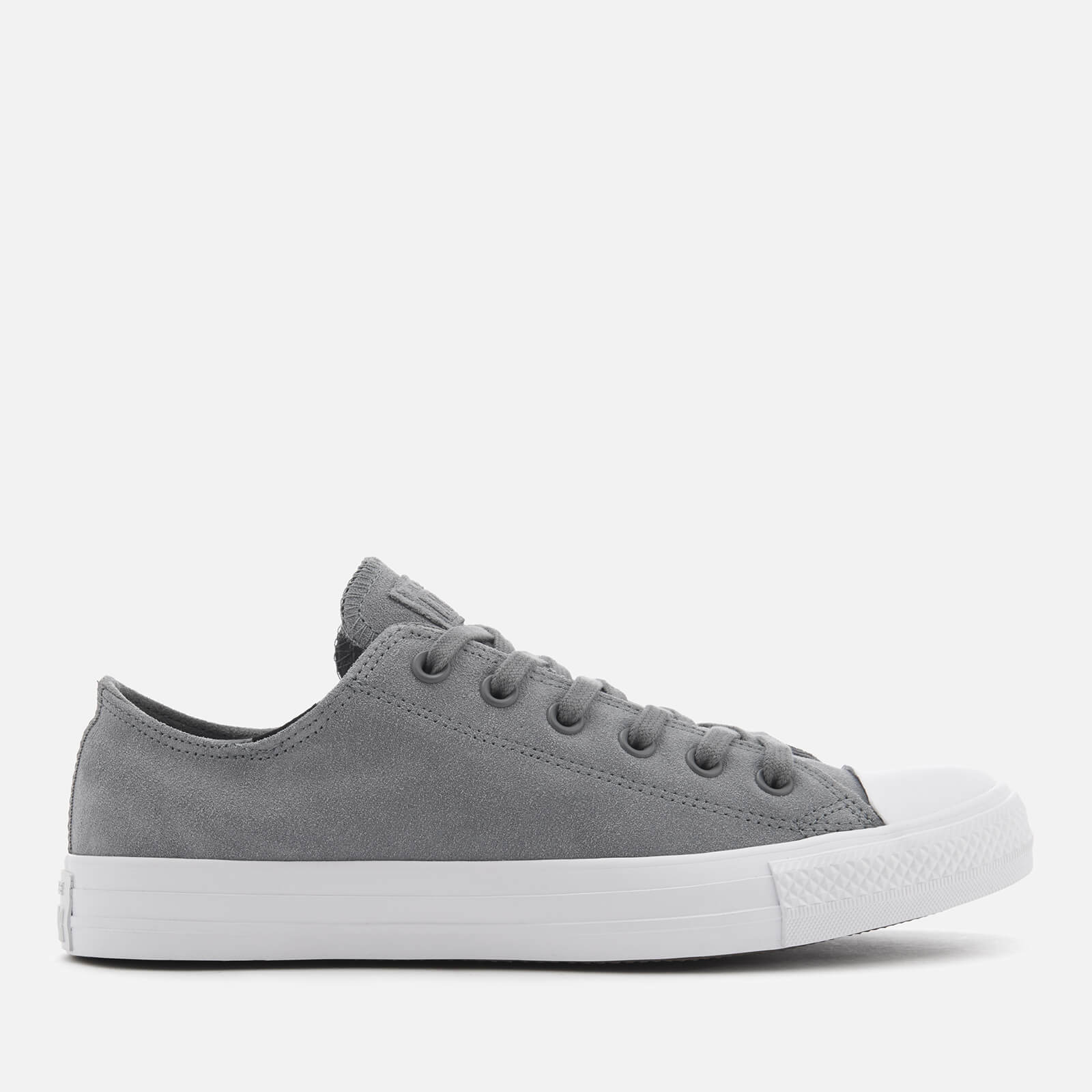 6a670285b436 Converse Men s Chuck Taylor All Star Ox Trainers - Cool Grey Cool  Grey White Clothing