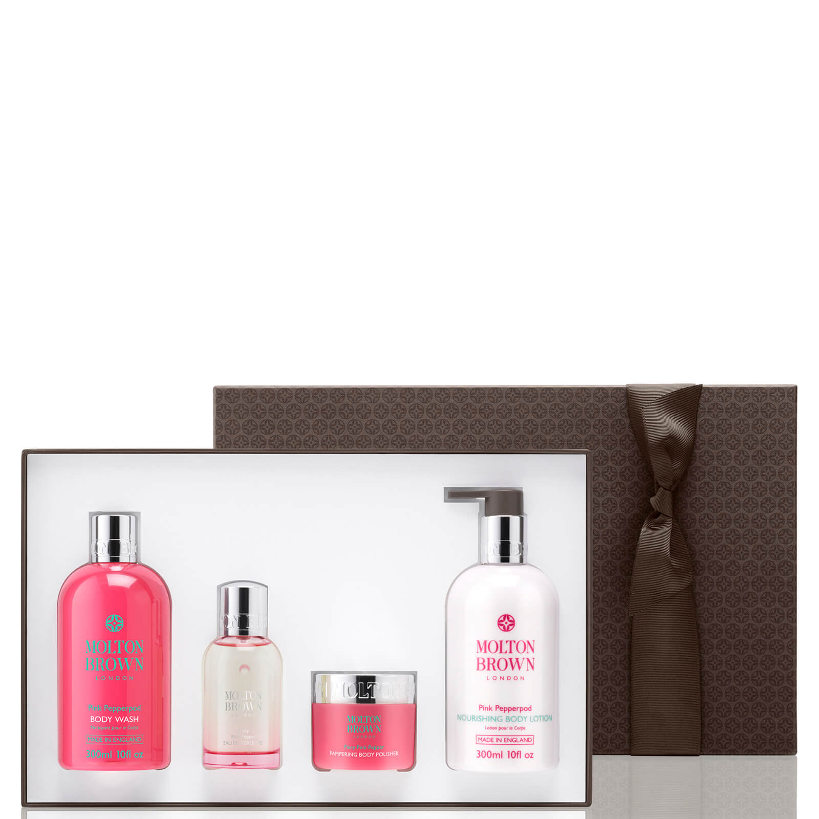 f21572e96249 Molton Brown Fiery Pink Pepper Pampering Body Gift Set. Product Description
