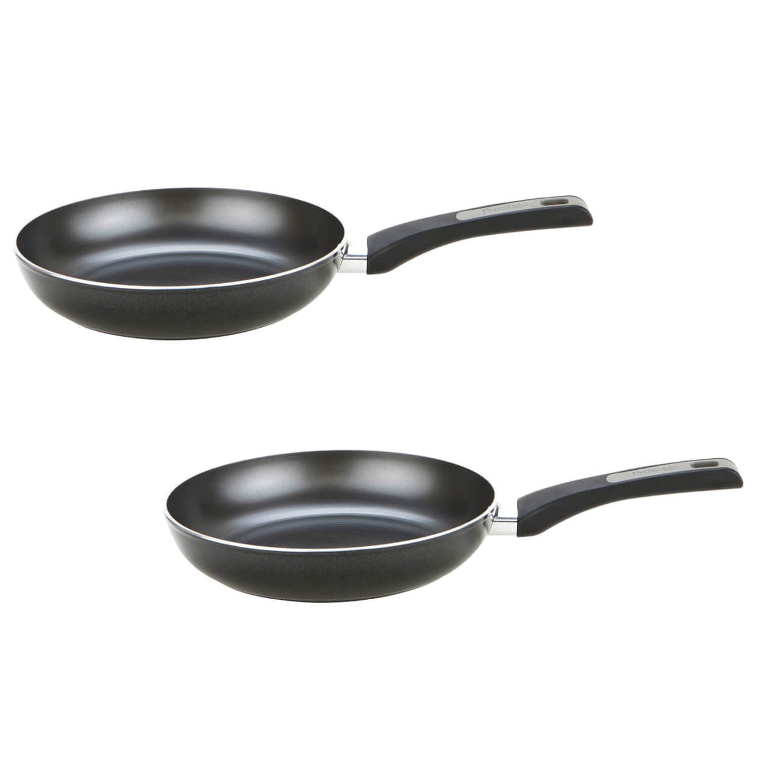 Prestige Dura Forge 2 Piece Fry Pan Set - 25cm & 30cm