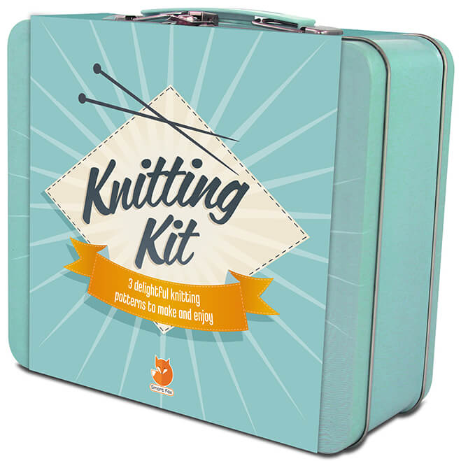 Smart Fox Knitting Tin
