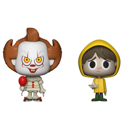 Figurines Vynl. Pennywise (Grippe-Sous) et Georgie Ça