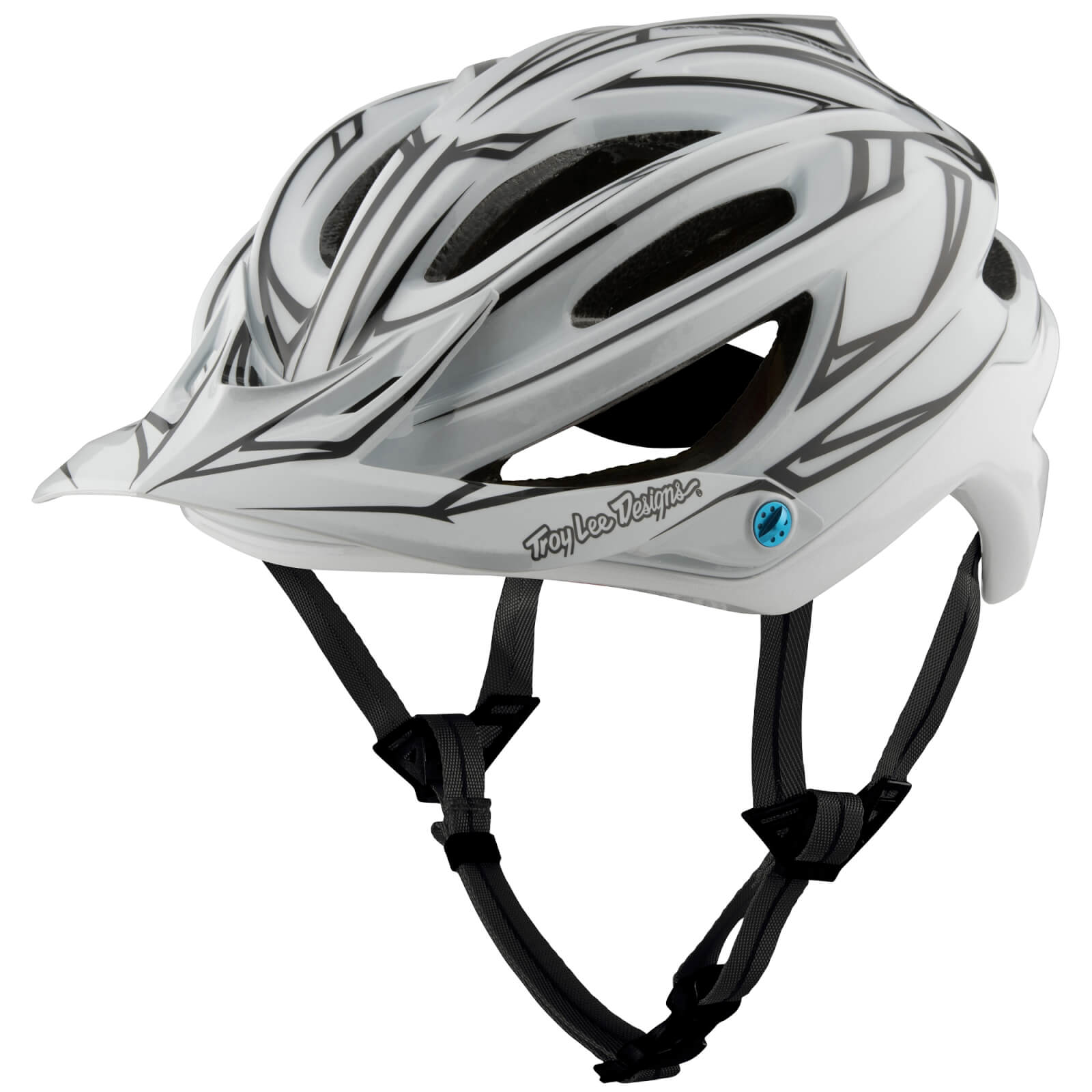 Troy Lee Designs A2 MIPS Pinstripe 2 MTB Helmet - White