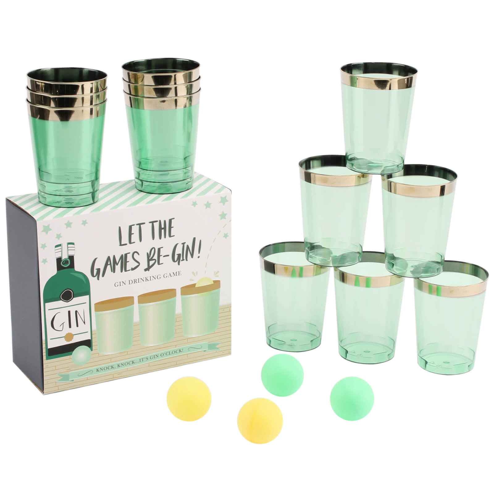Gin Pong Drinking Game
