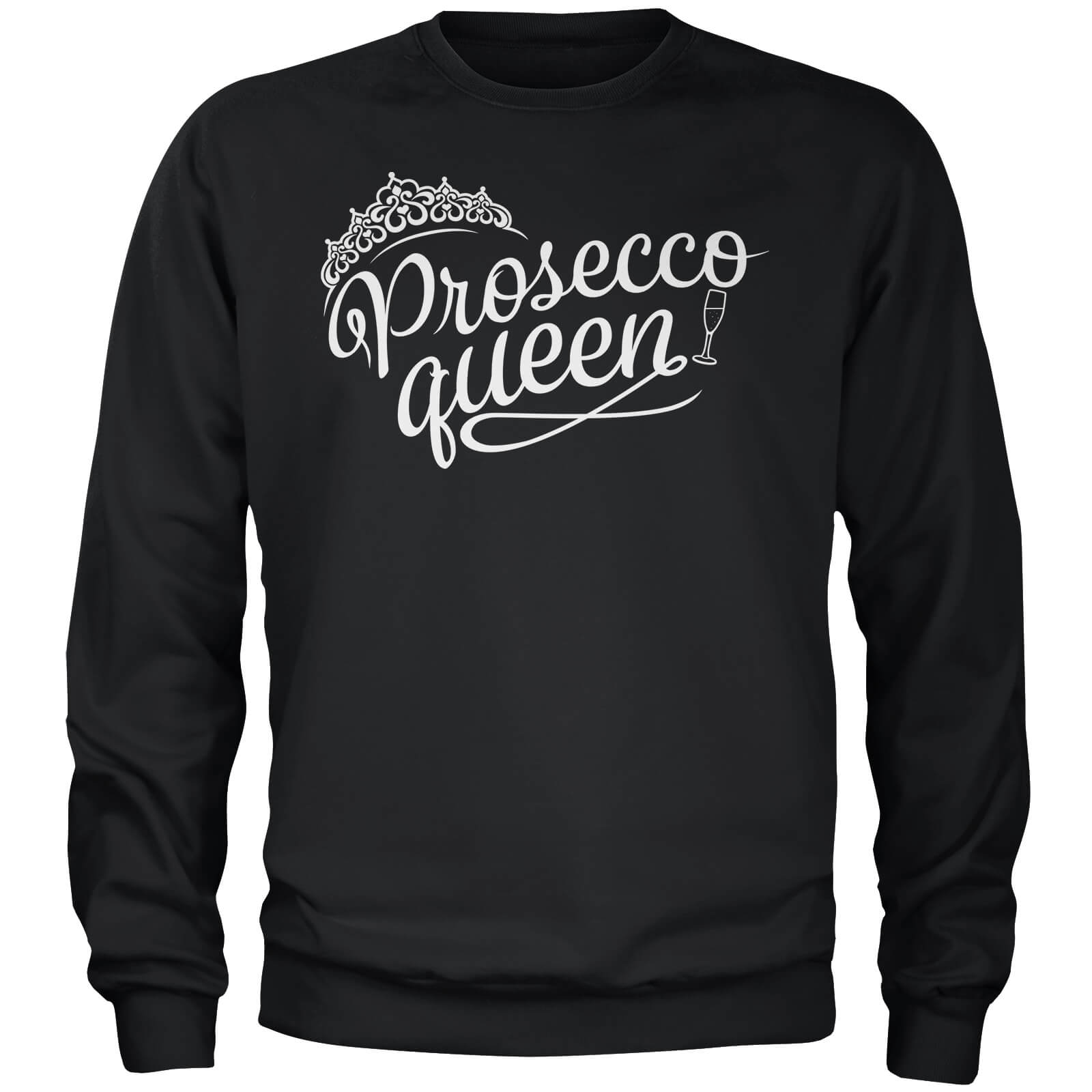 Prosecco Queen Black Sweatshirt