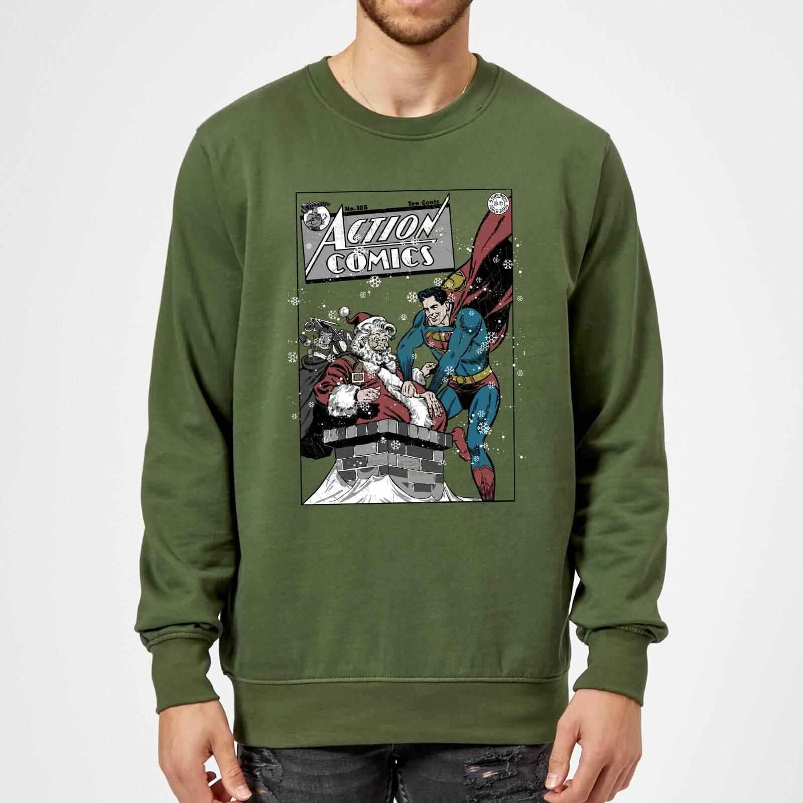 Green Arrow Comic Hero PULL Licensed Long Sleeve T-Shirt S-3XL