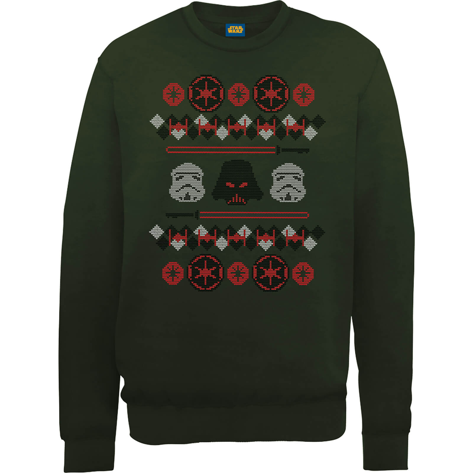Star Wars Empire Knit Green Christmas Sweatshirt