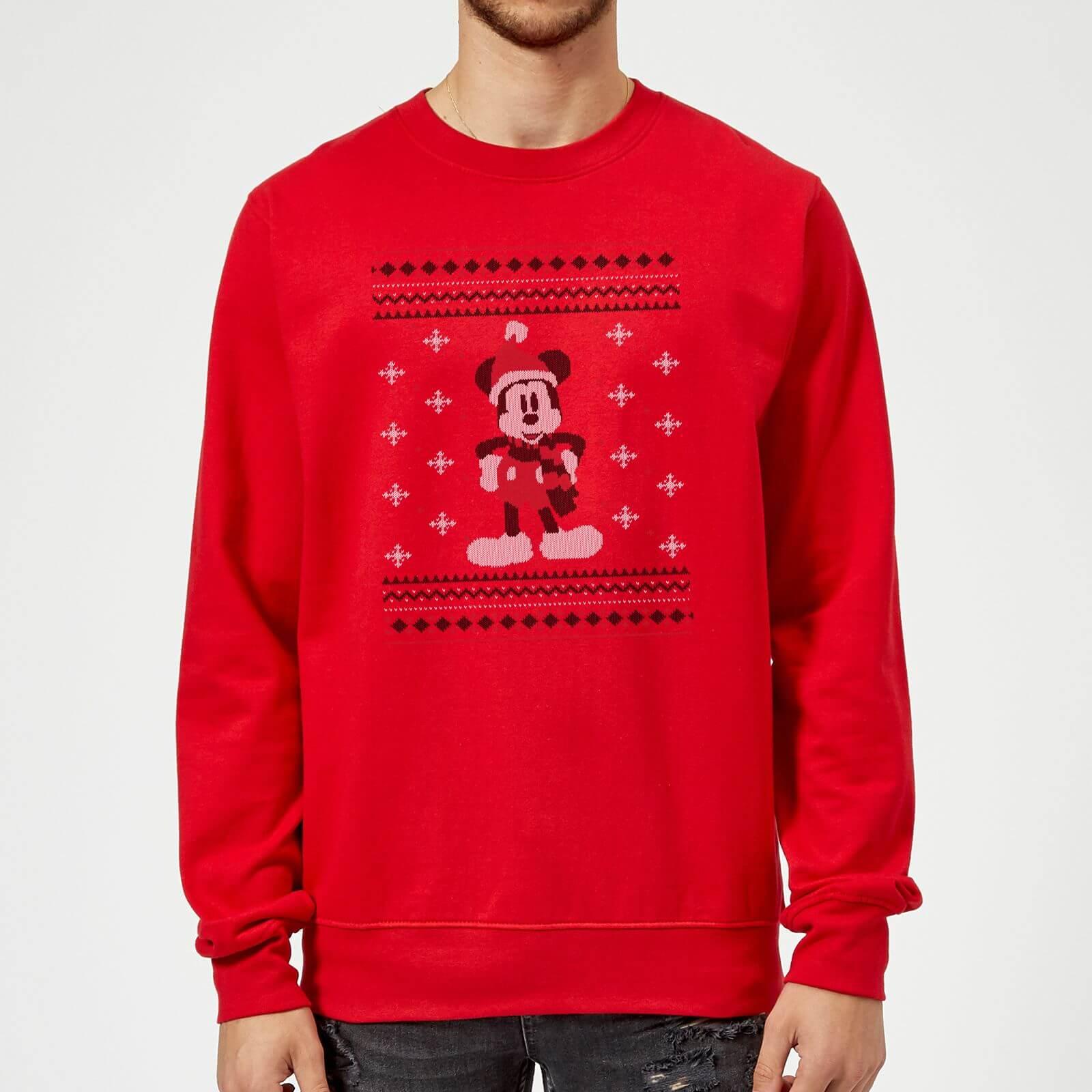 nuevo estilo 25679 06e8d Sudadera Navidad Disney Mickey Mouse