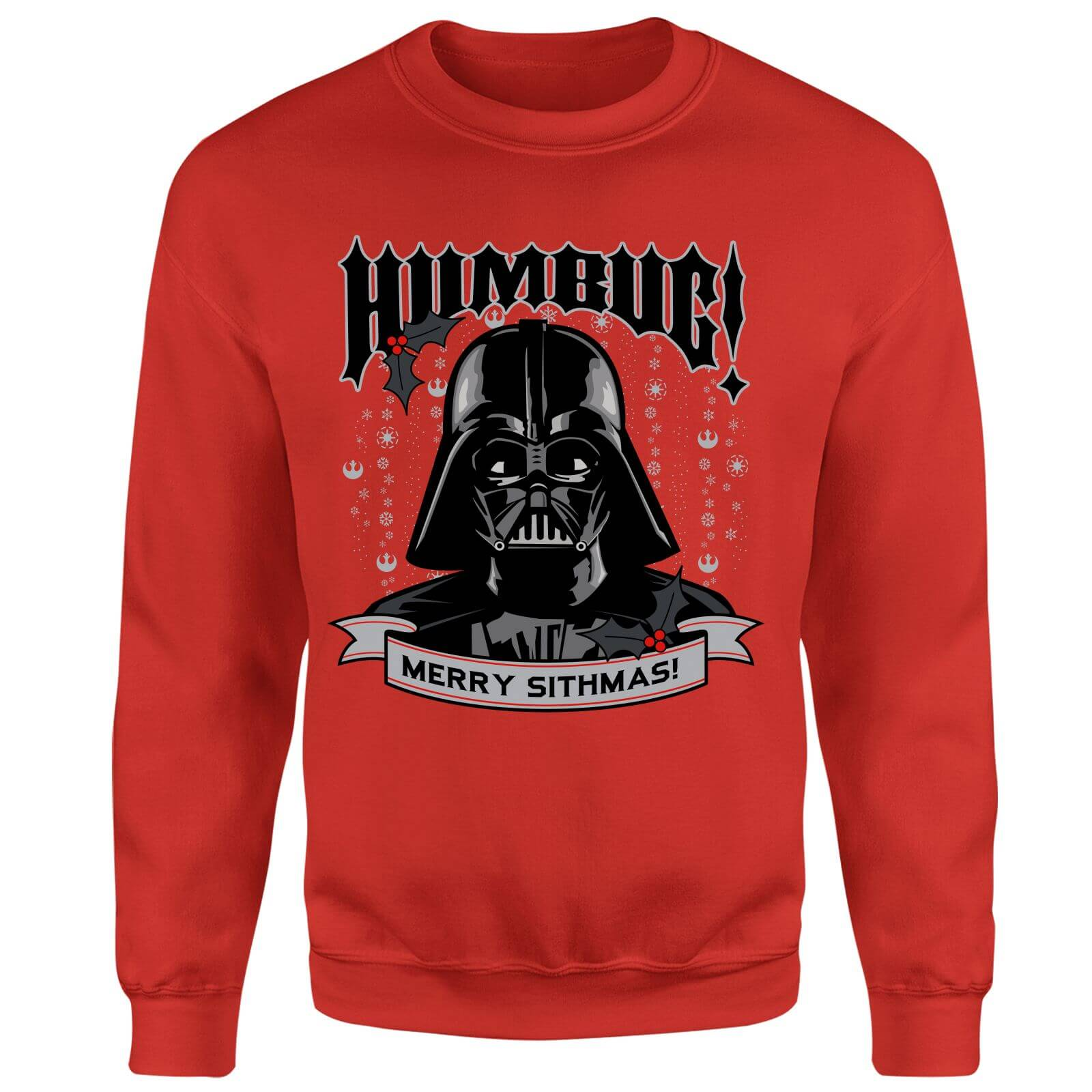 Star Wars Darth Vader Merry Sithmas Red Christmas Sweatshirt