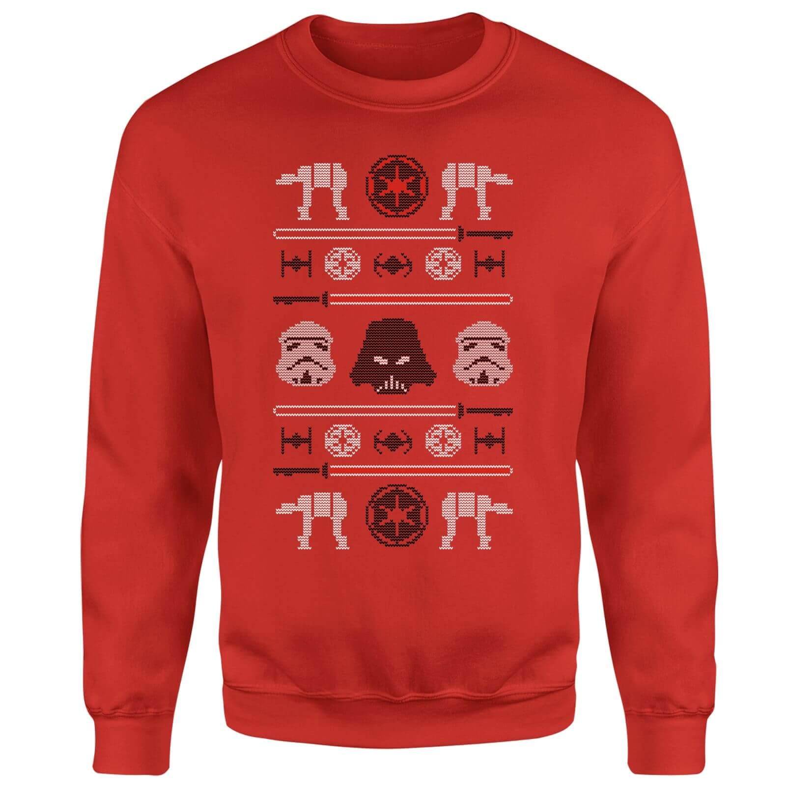 Star Wars Imperial Knit Red Christmas Sweatshirt