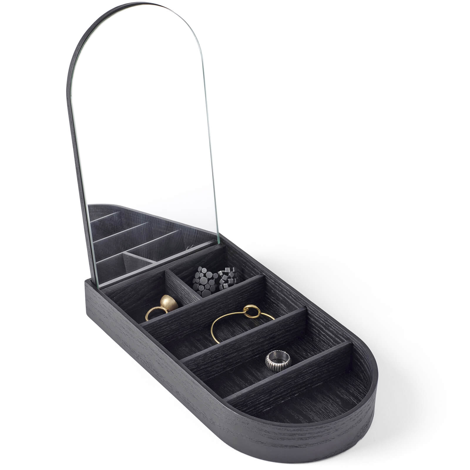 Menu Jewellery Box - Black Ash