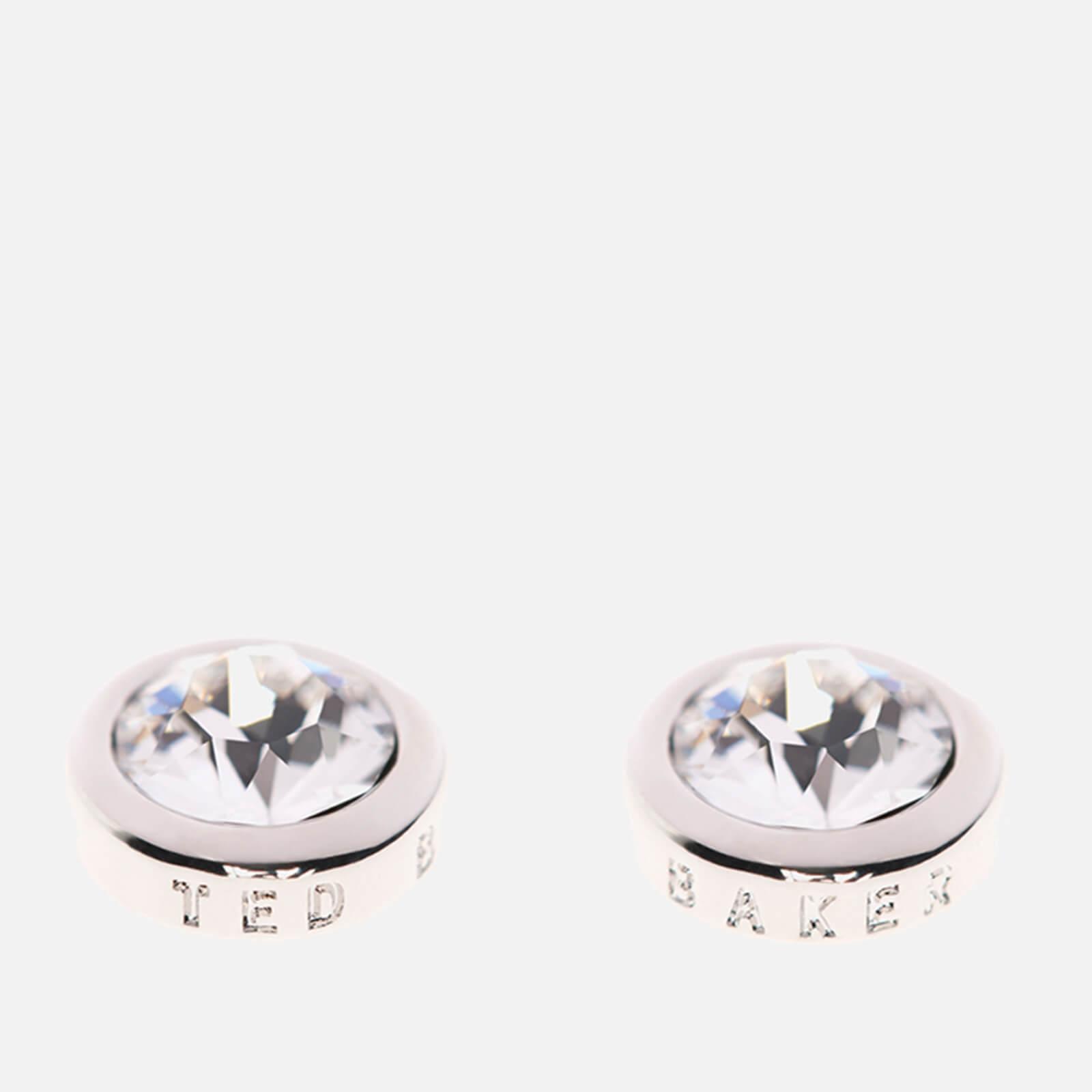 38e91bcf0 Ted Baker Women's Sinaa Swarovski Crystal Stud Earrings - Silver/Crystal - Rose  Gold Womens Accessories | TheHut.com
