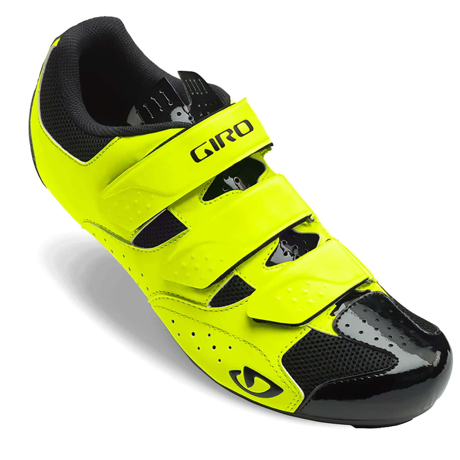 Giro Techne Road Cycling Shoes - Highlight Yellow