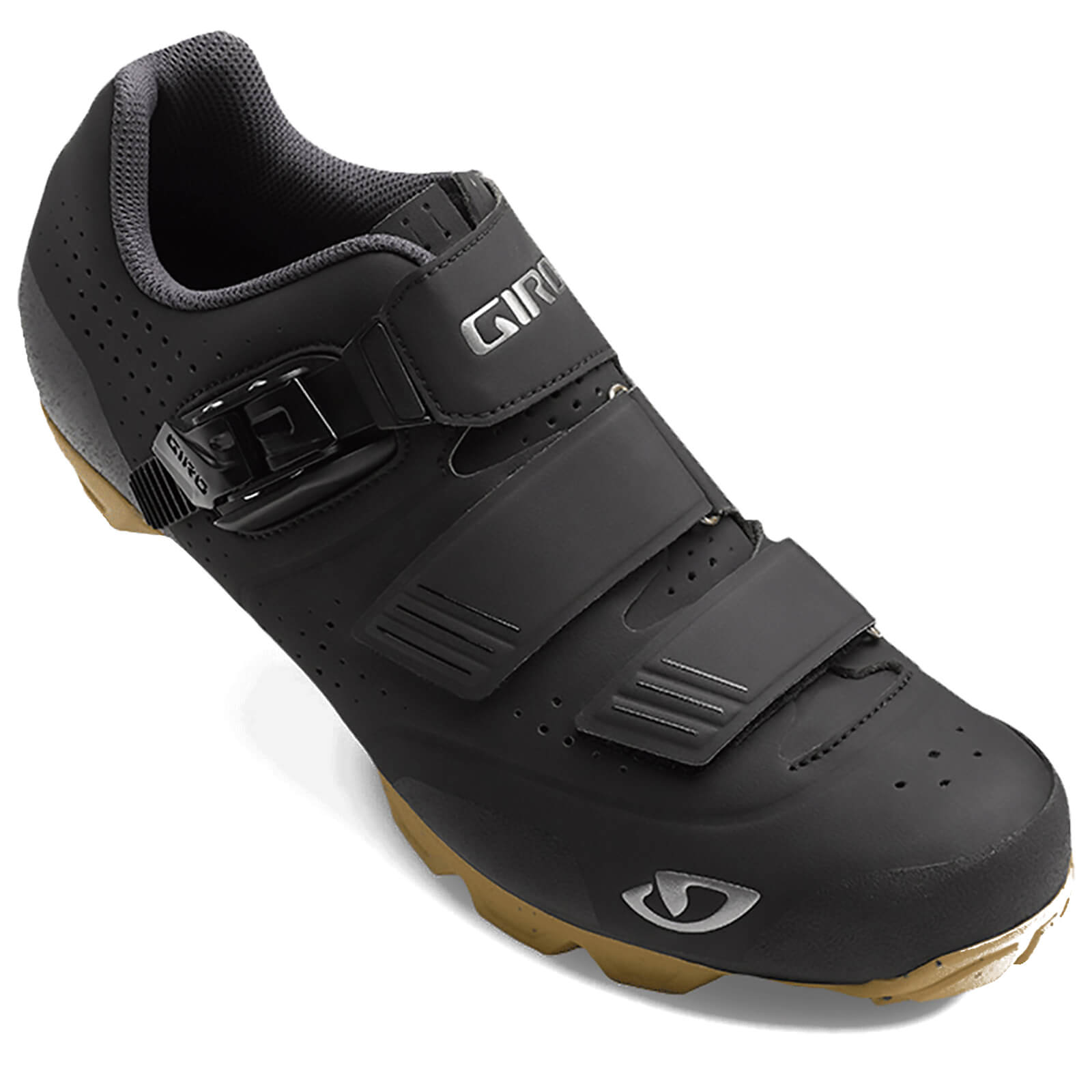 Giro Privateer R HV MTB Cycling Shoes - Black/Gum