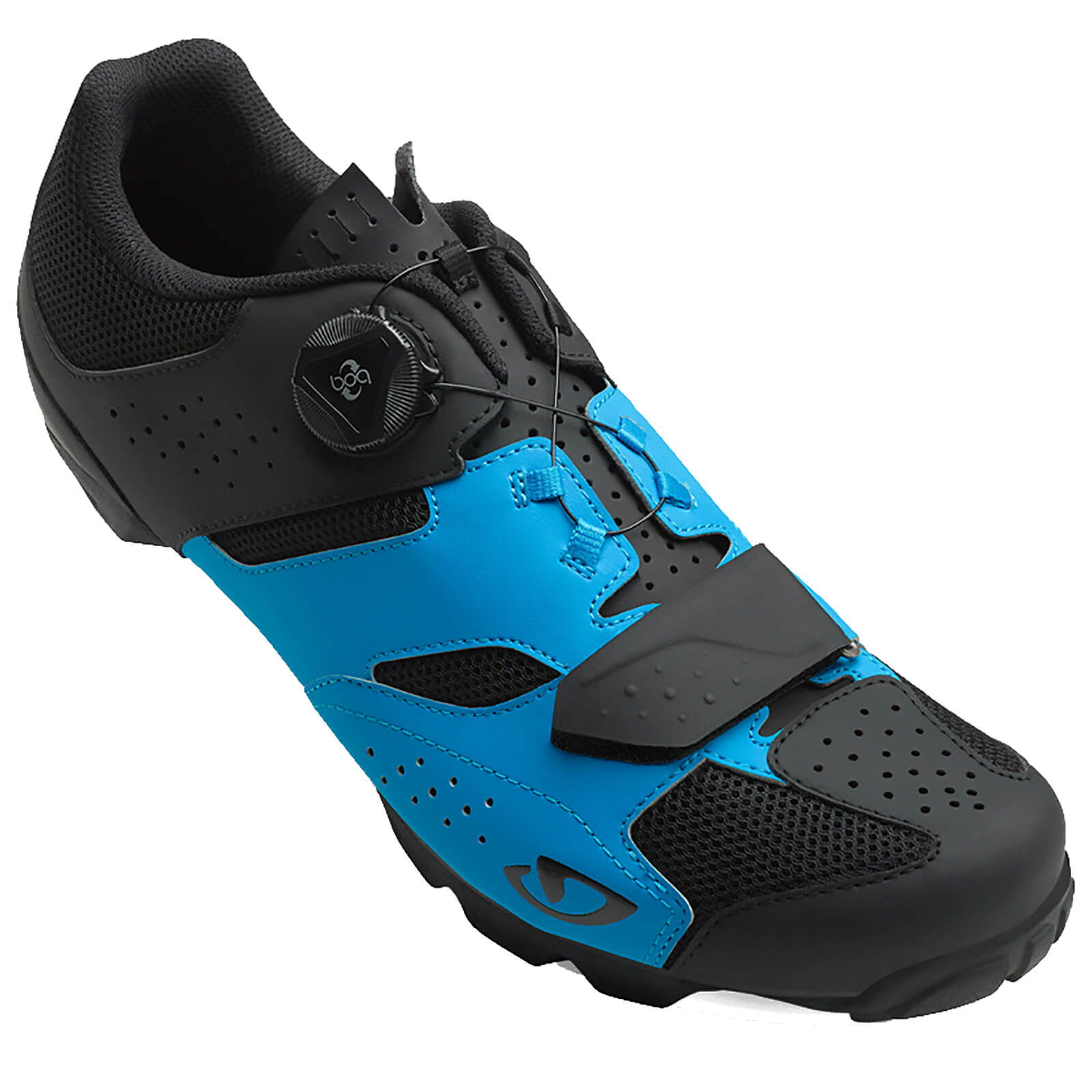 084ad642ecd Giro Cylinder MTB Cycling Shoes - Blue Black