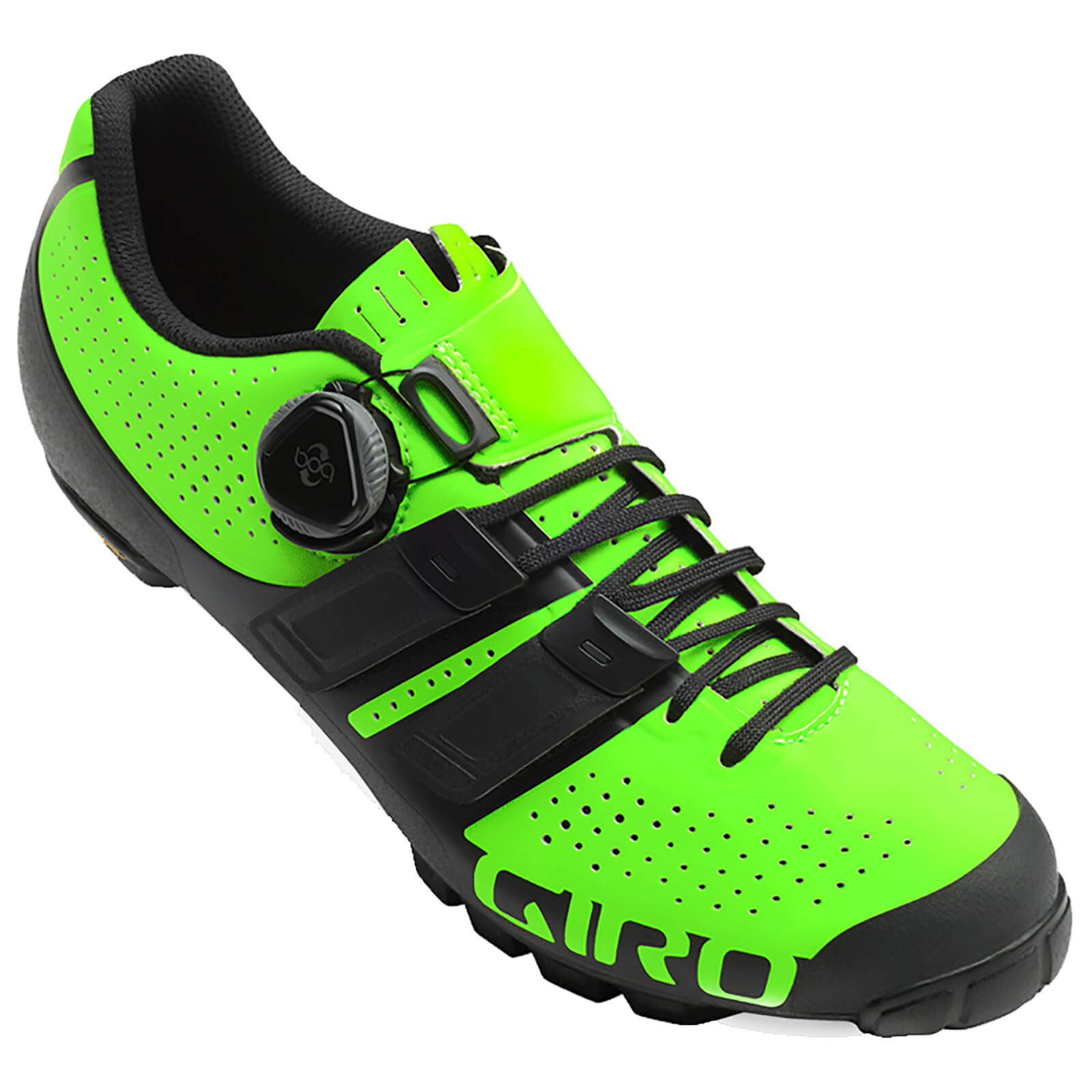 Giro Techlace MTB Cycling Shoes - Lime/Black