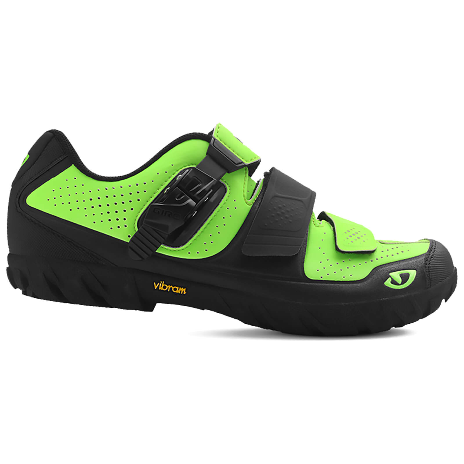 Giro Terraduro MTB Cycling Shoes - Lime/Black
