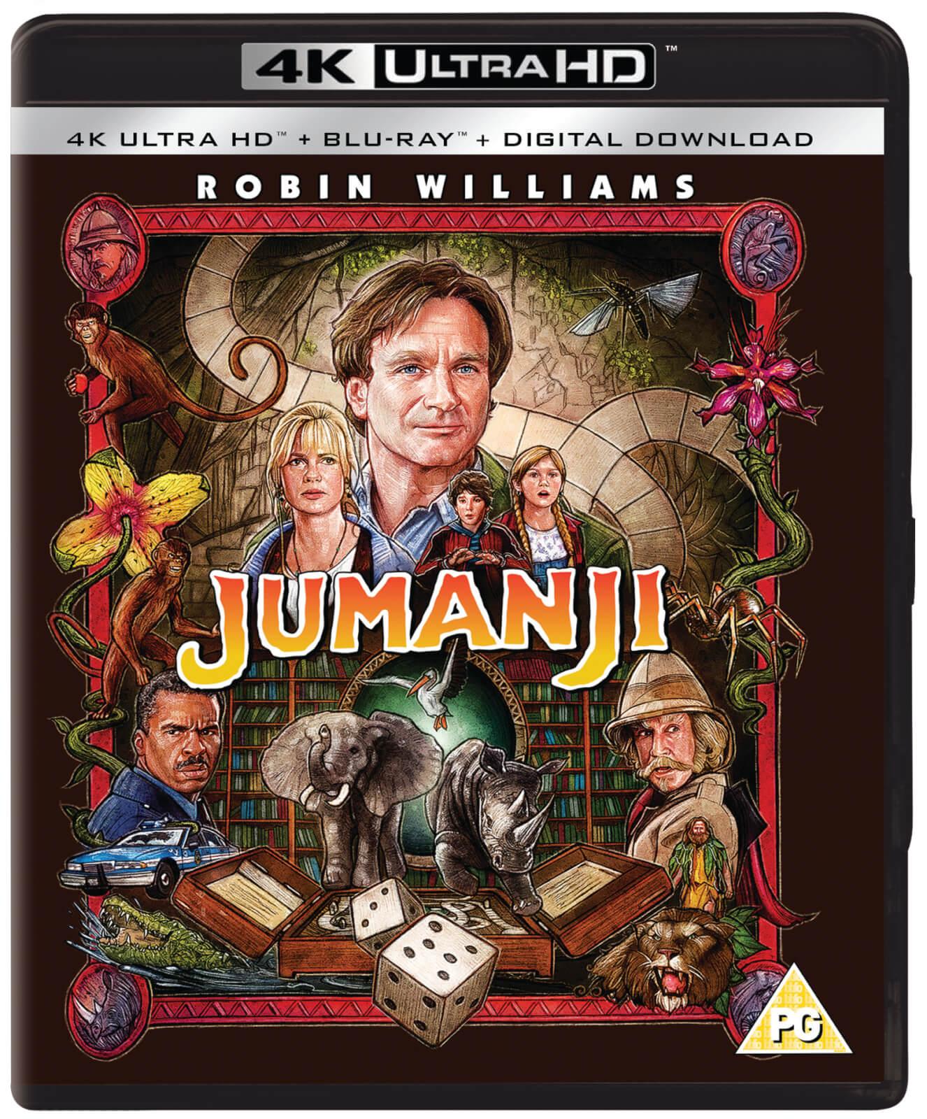 Jumanji (1995) - 4K Ultra HD Blu-ray   Zavvi.de