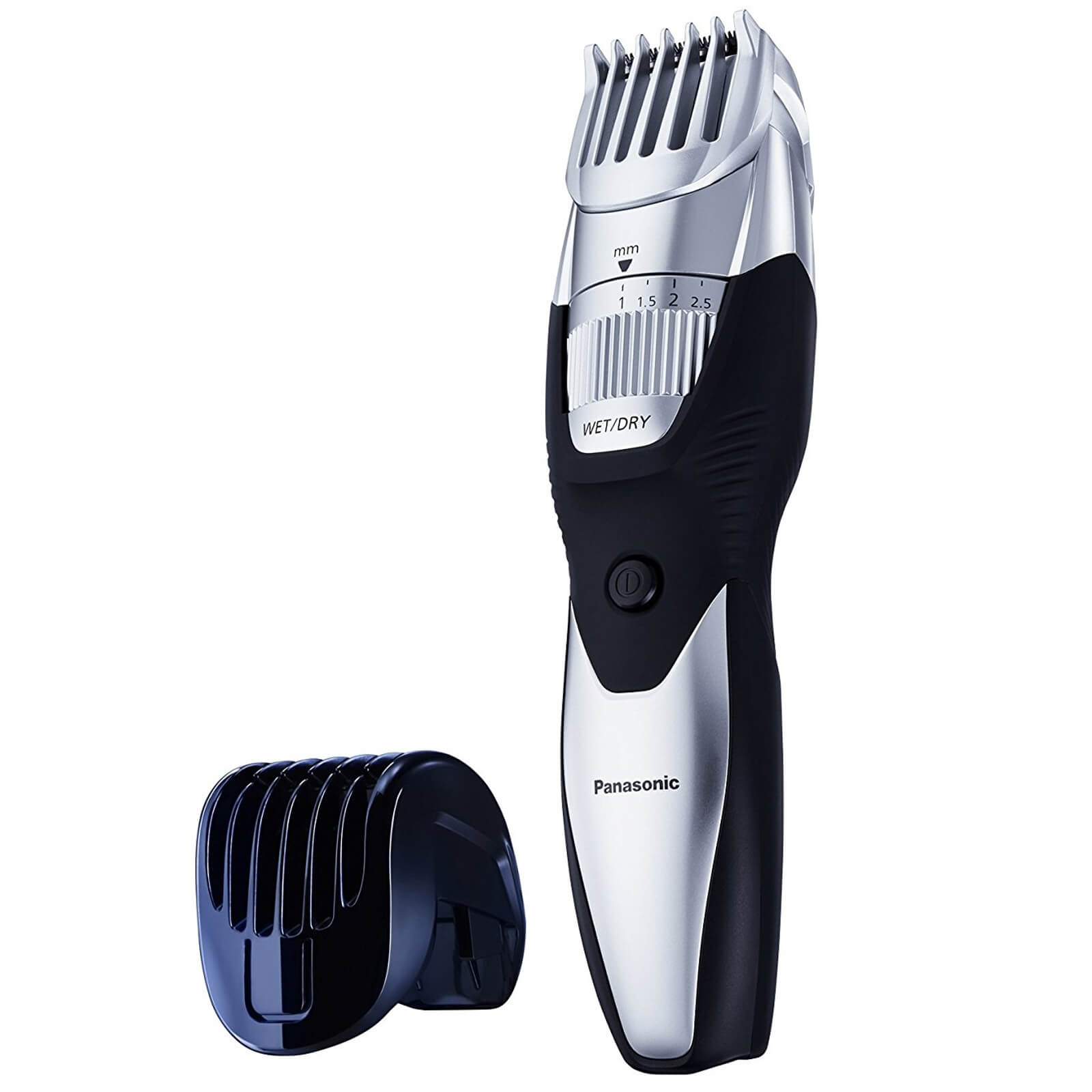 Panasonic ER-GB52 Wet and Dry Beard and Body Trimmer (19x Cutting Lenghts, Body Attachment) - Black
