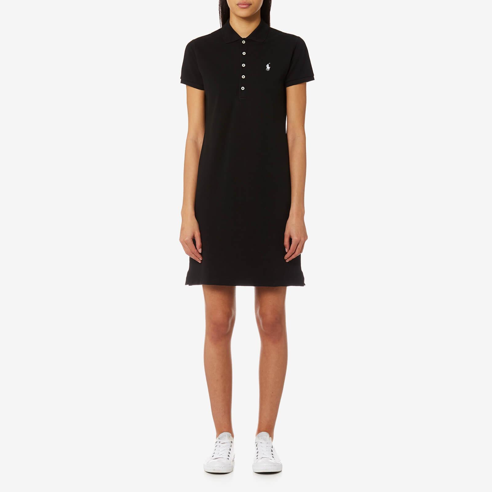 5c51152d Polo Ralph Lauren Women's Stretch Mesh Polo Dress - Black