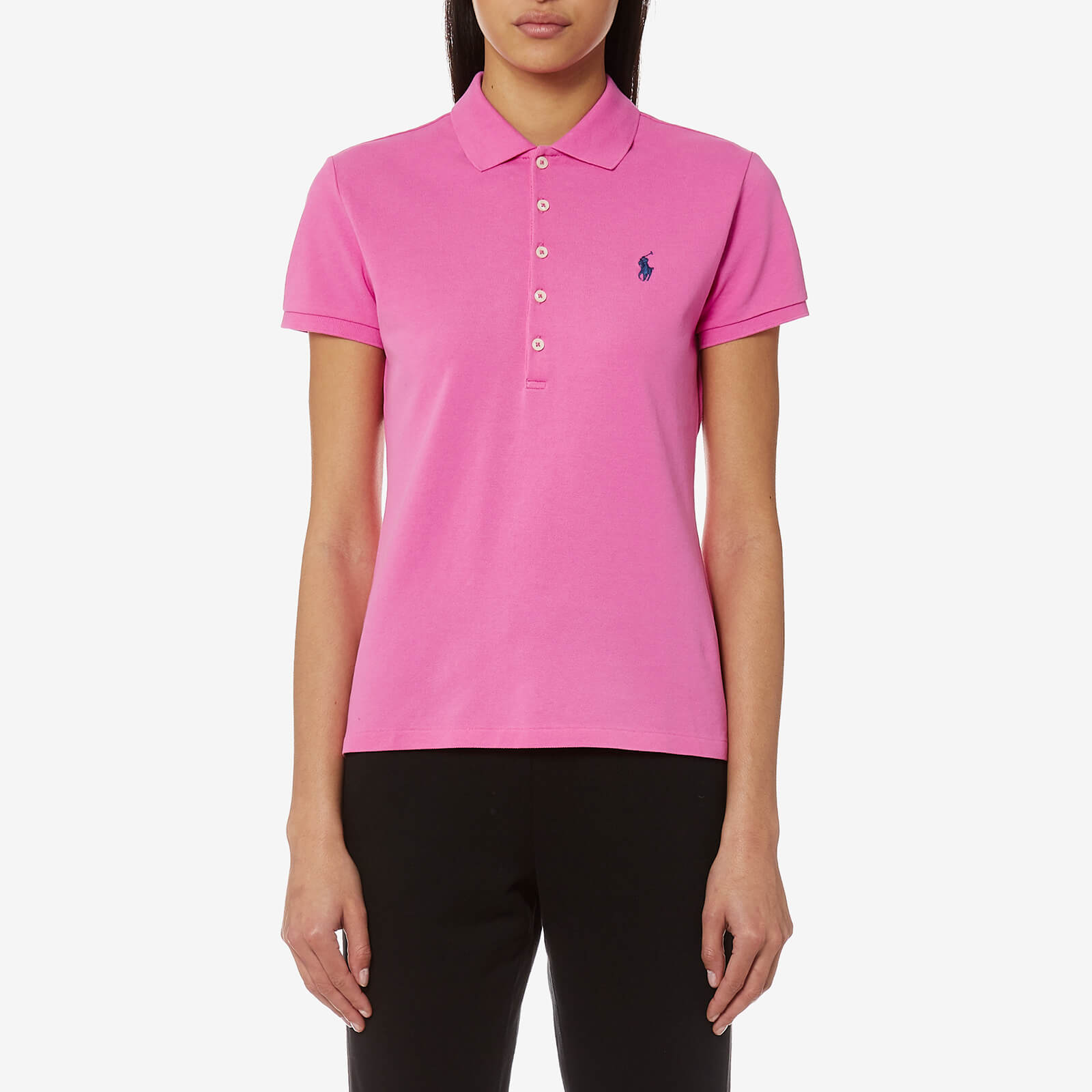 a35fe9e7f970 Polo Ralph Lauren Women's Julie T-Shirt - Pink Peonie - Free UK Delivery  over £50