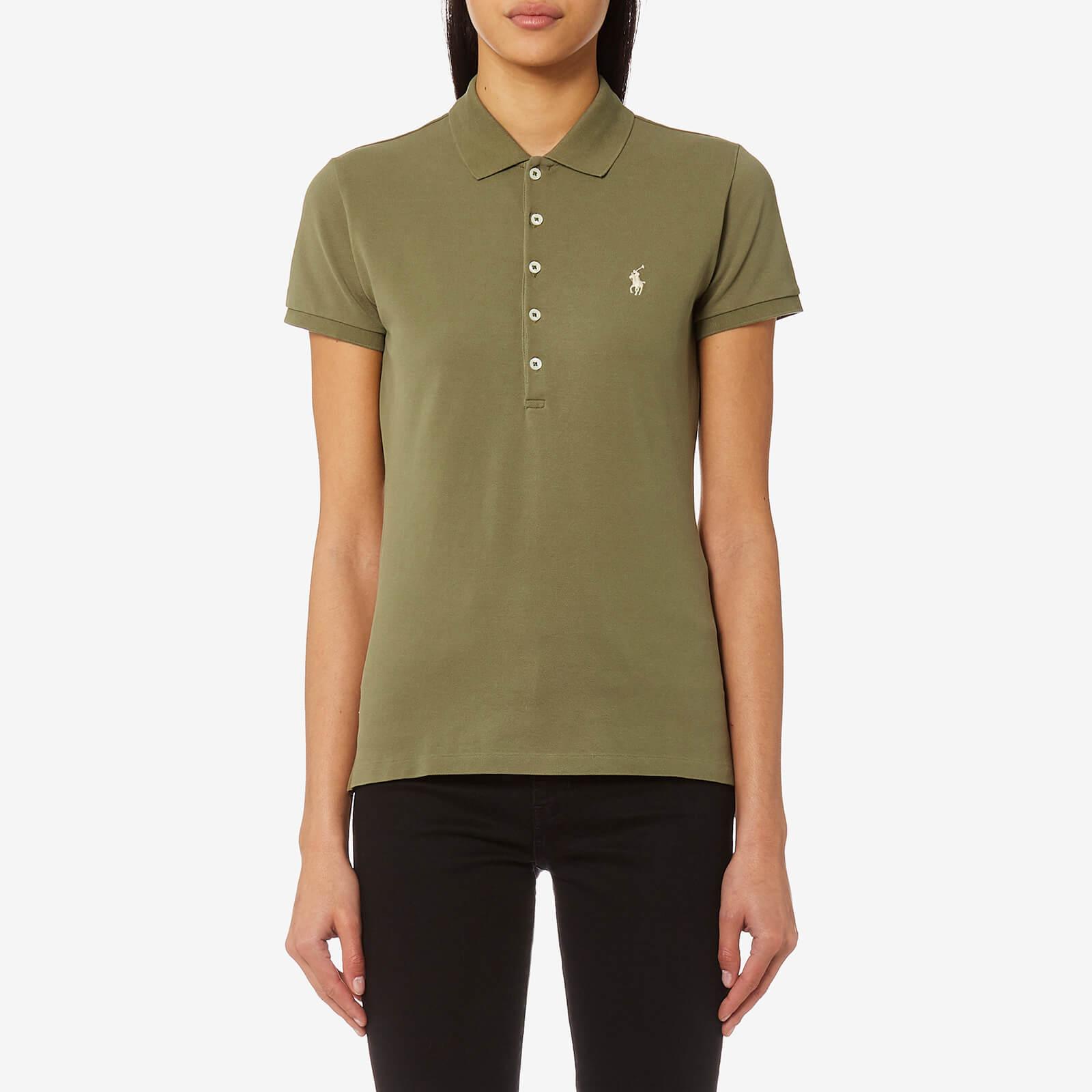 8fe0e6d31582 Polo Ralph Lauren Women's Julie T-Shirt - Khaki - Free UK Delivery over £50