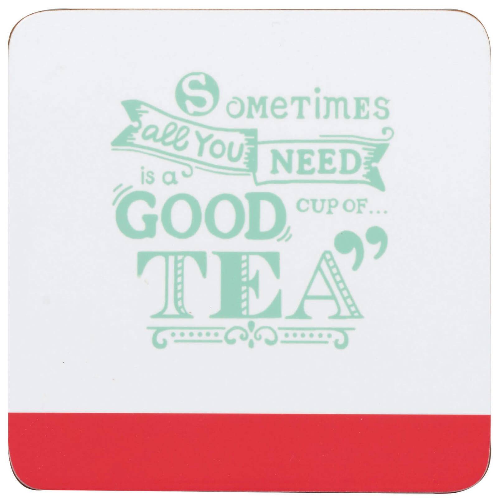 Chasing Rainbows Cup of Tea Coaster