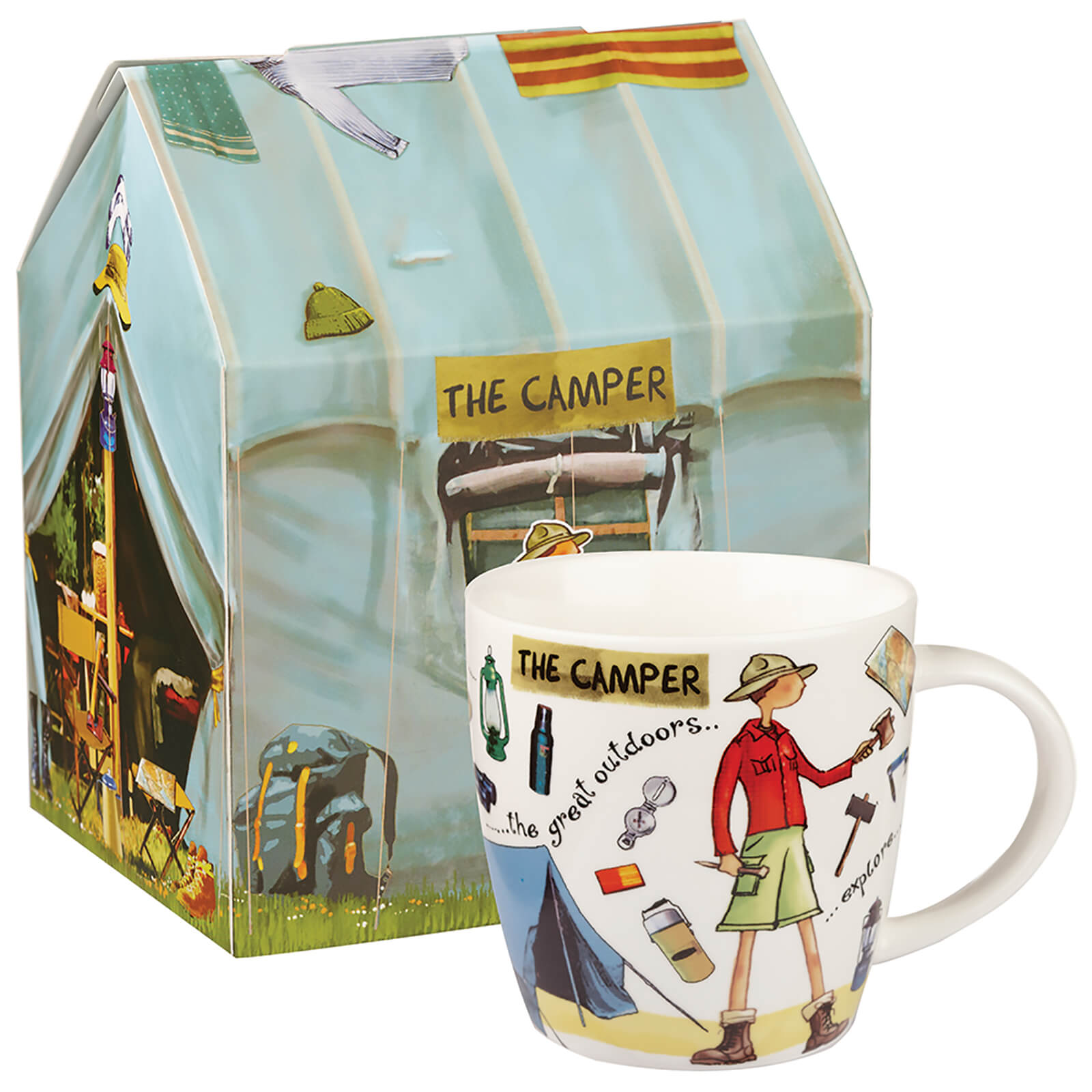 At Your Leisure Camper Mug