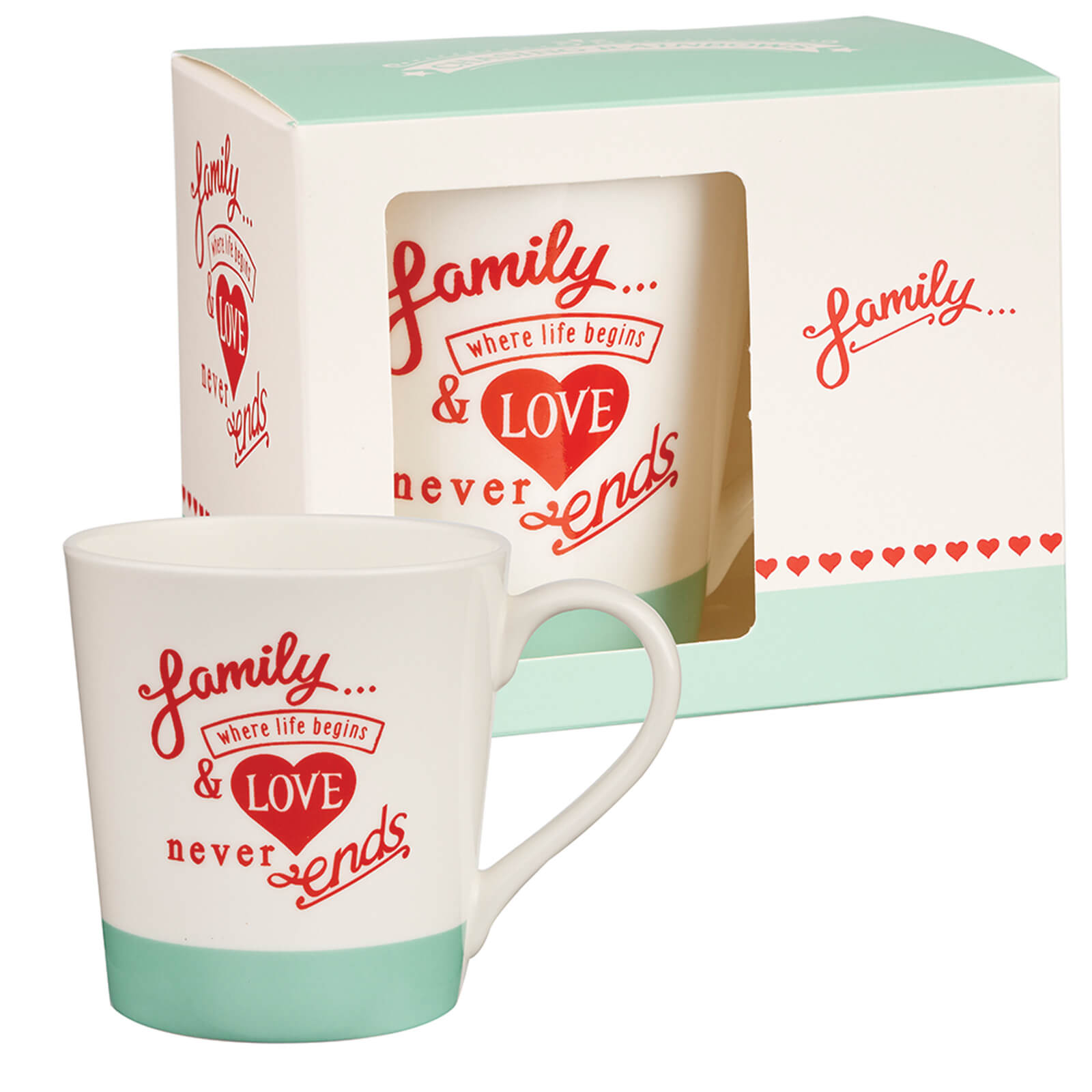 Chasing Rainbows Family Mug