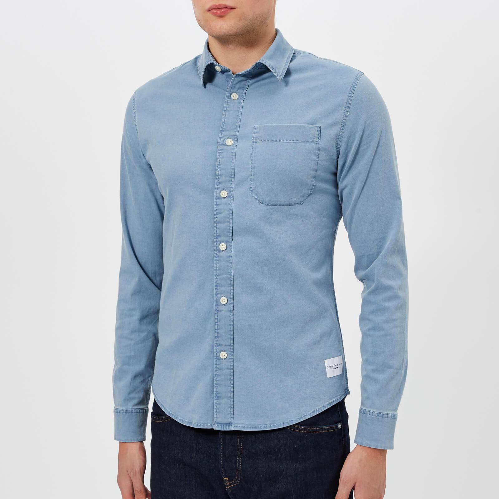 69a97761df Calvin Klein Men s Wilbens Denim Shirt - Light Indigo Mens Clothing ...
