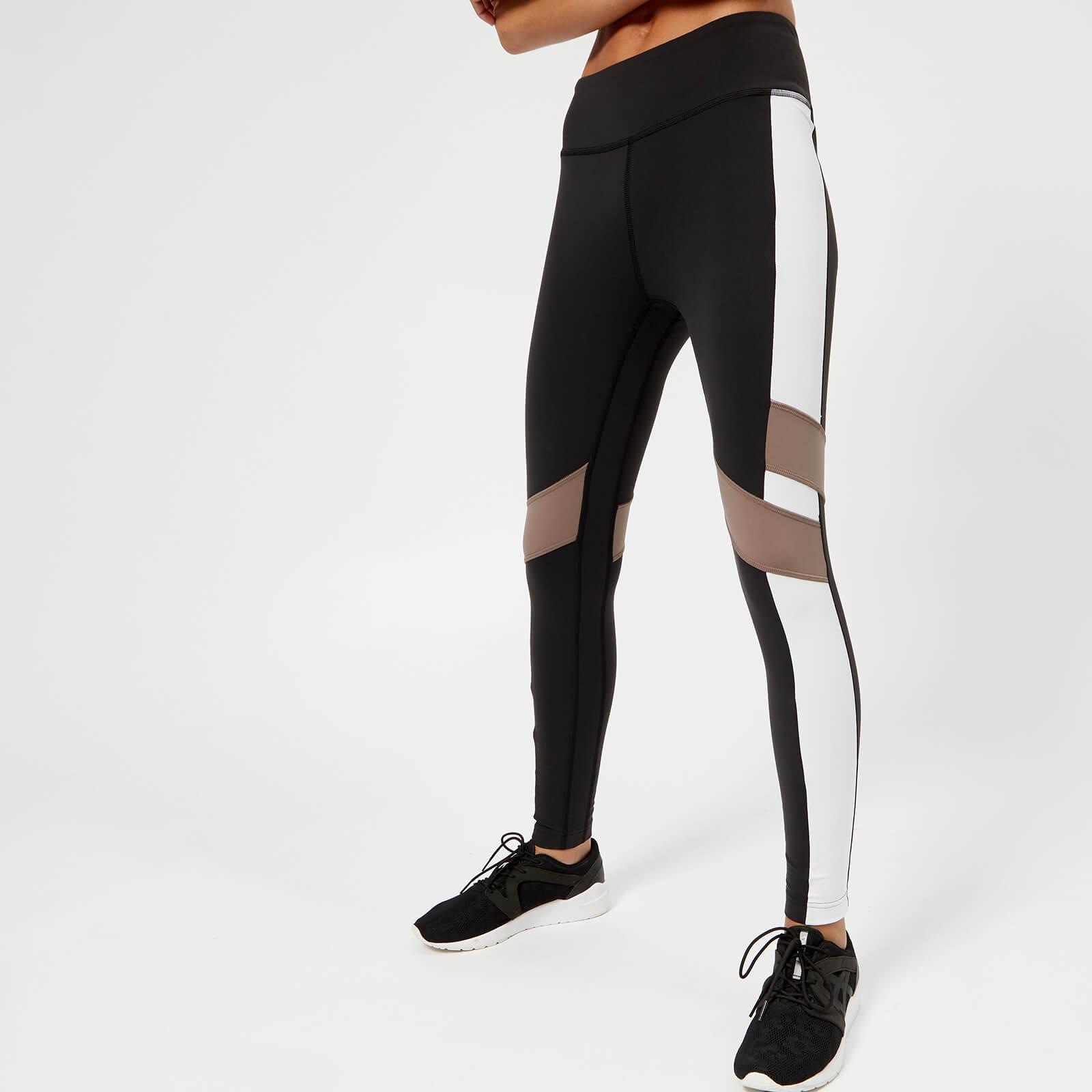 955ceaec36 Reebok Women's Lux Colour Block Tights - Black Sports & Leisure | TheHut.com