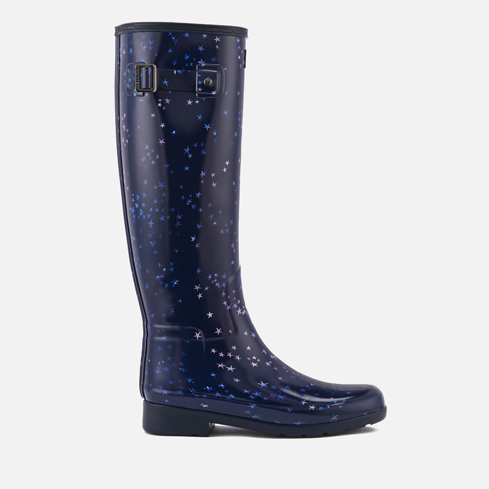 401a91d49de Hunter Women s Refined Constellation Print Tall Wellies - Midnight - Free  UK Delivery over £50
