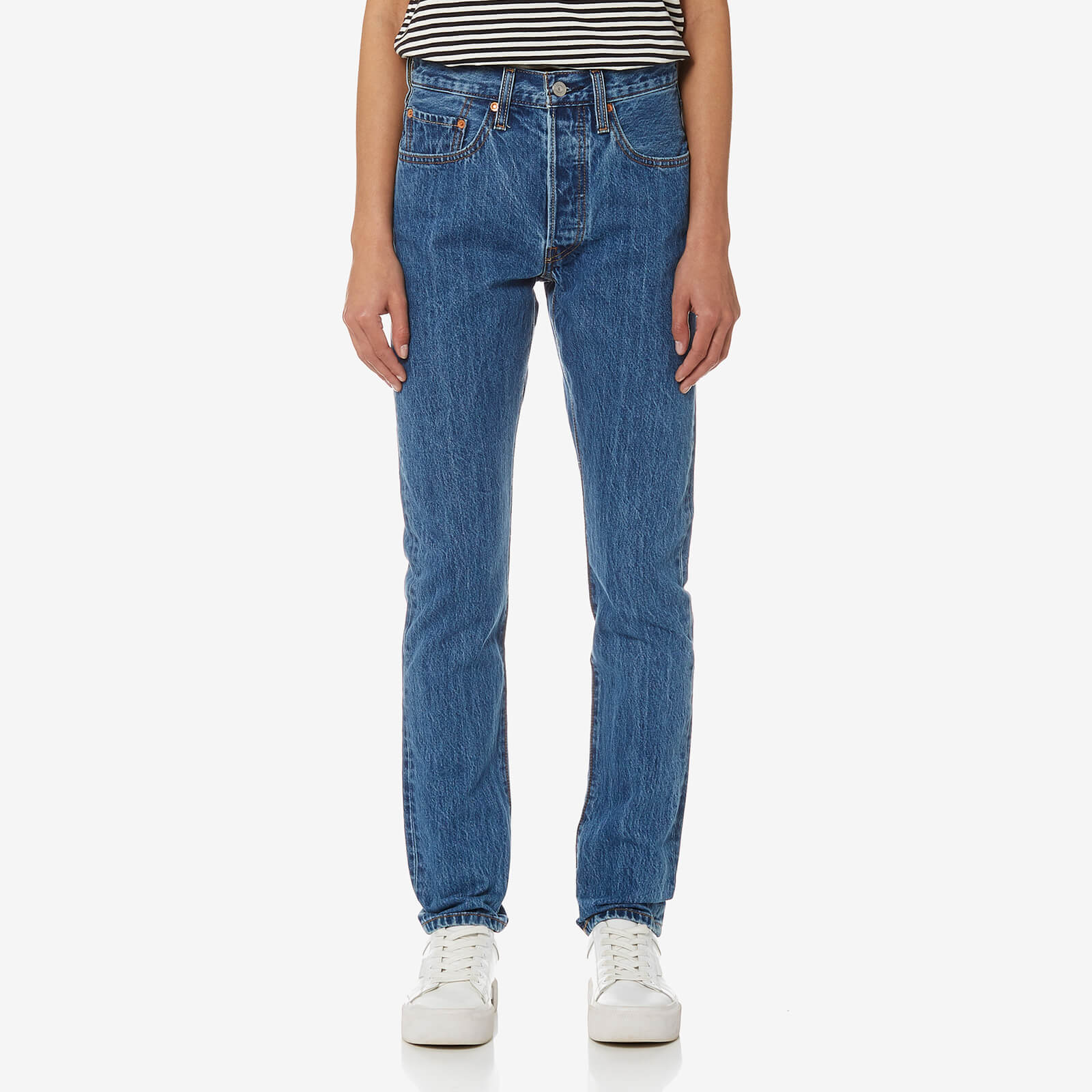 1f88cbf65250 Levi's Women's 501 Skinny Jeans - Rolling Dice - Free UK Delivery over £50