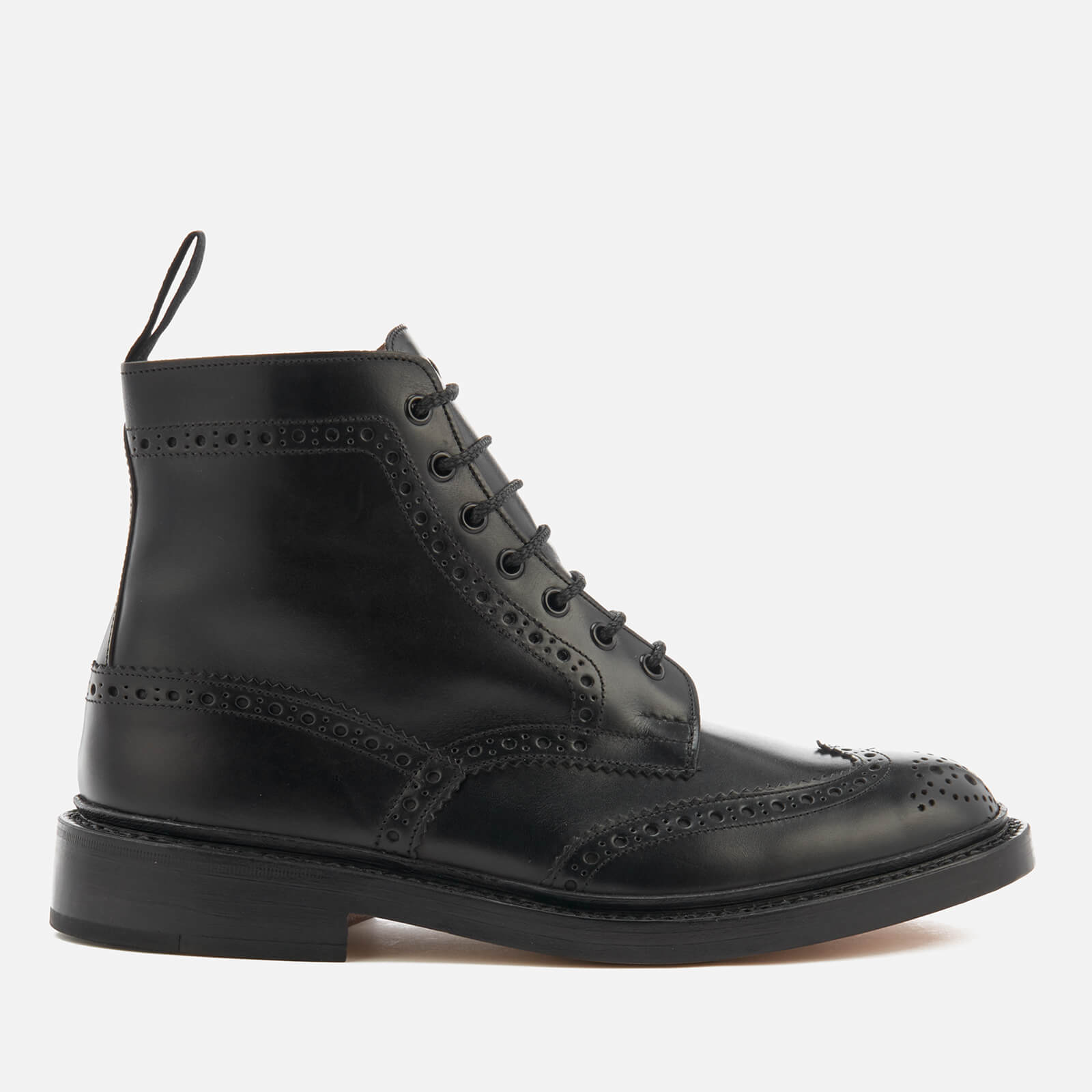 ce6e27a6b8c8 Tricker s Men s Stow Leather Brogue Lace Up Boots - Black - Free UK  Delivery over £50