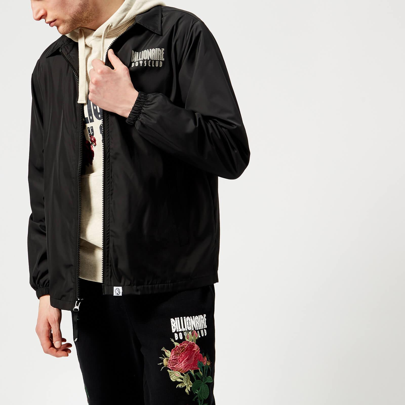 35a1794ea Billionaire Boys Club Men's Zip Coach Jacket - Black - Free UK Delivery  over £50