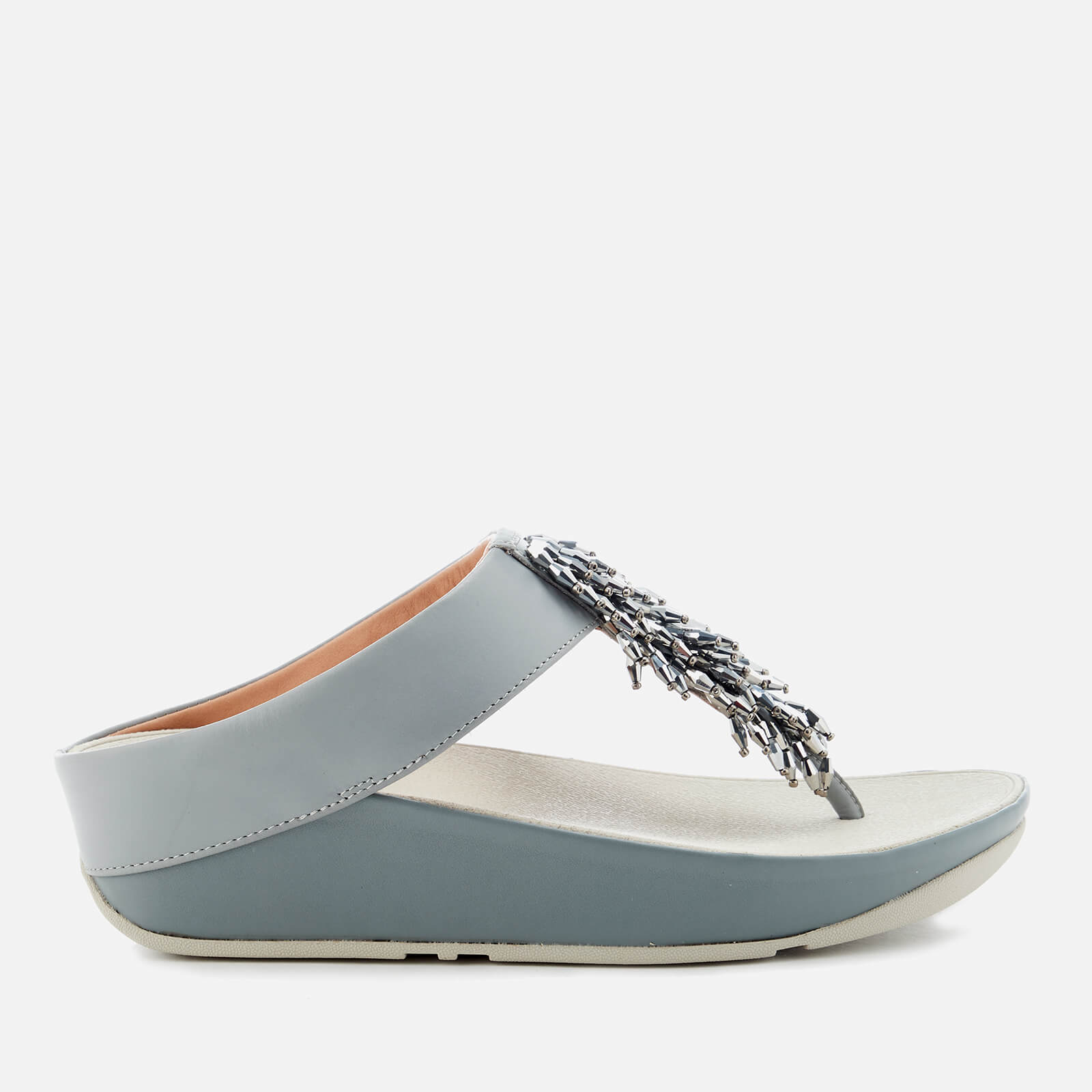 9ba144bc2ab3 FitFlop Women s Rumba Crystal Toe Post Sandals - Dove Blue Womens  Accessories