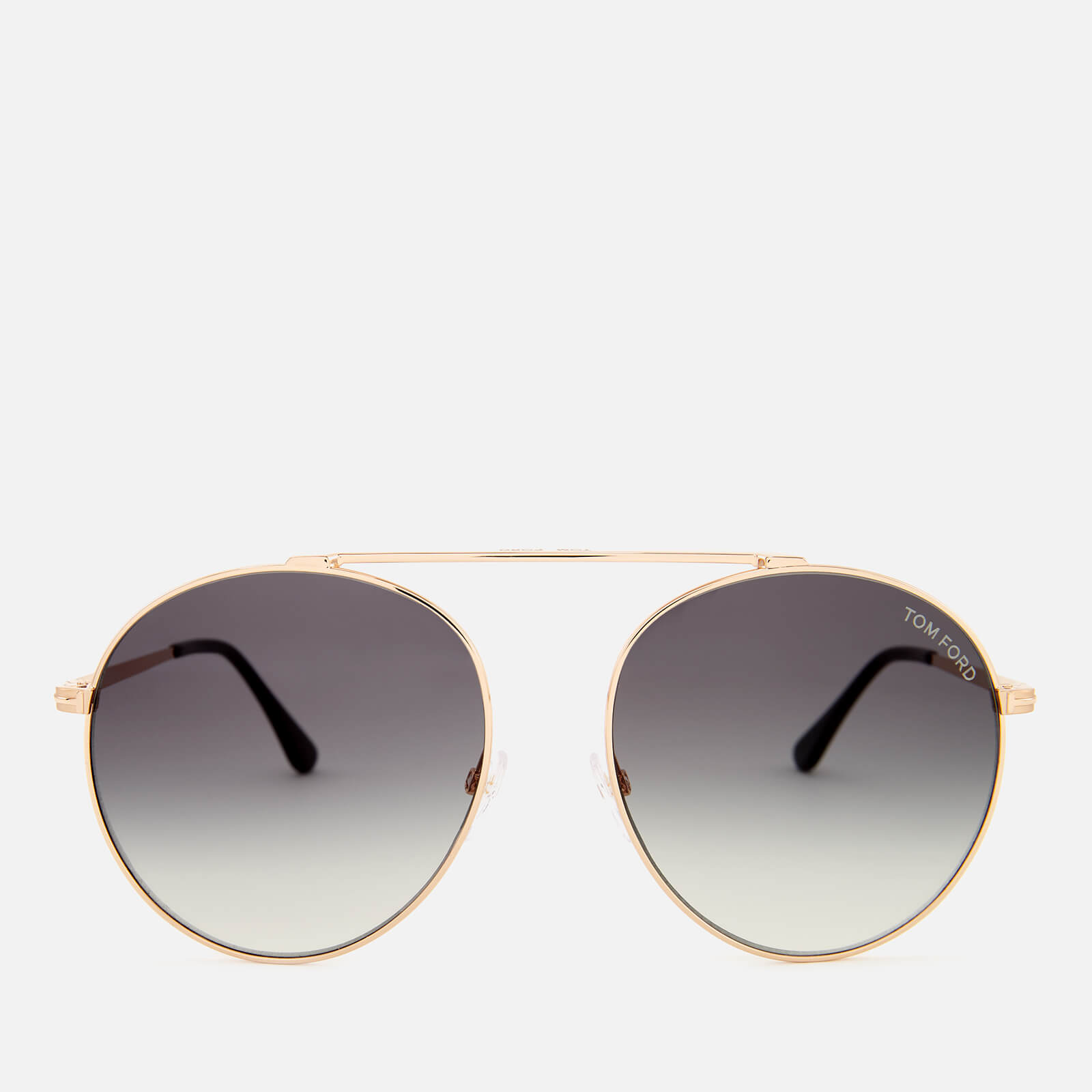 1bf74e4263 Tom Ford Women s Simone Aviator Style Sunglasses - Rose Gold Gradient Smoke  - Free UK Delivery over £50