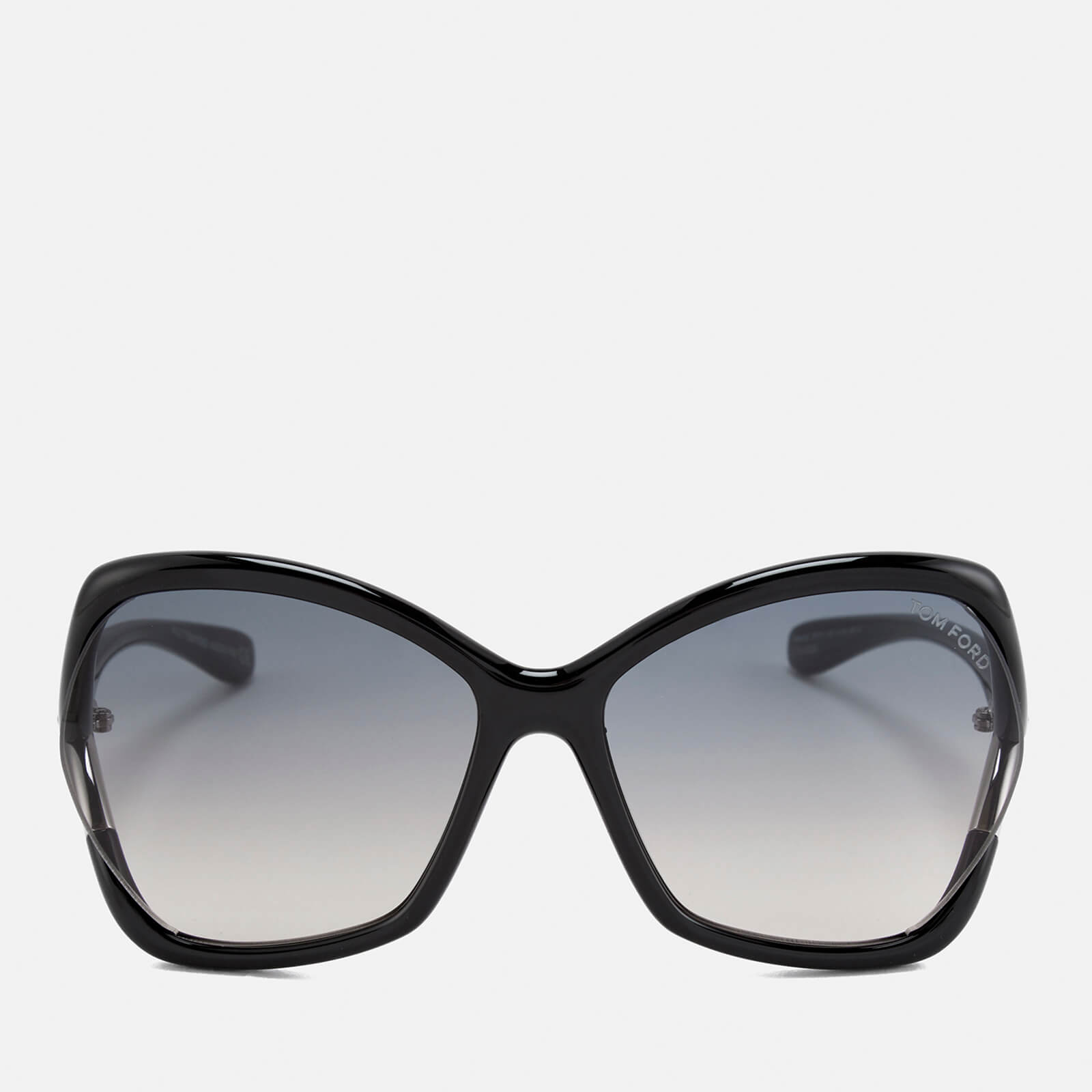 28ad556561ae6 Tom Ford Women s Astrid Oversized Sunglasses - Black Gradient Smoke Womens  Accessories
