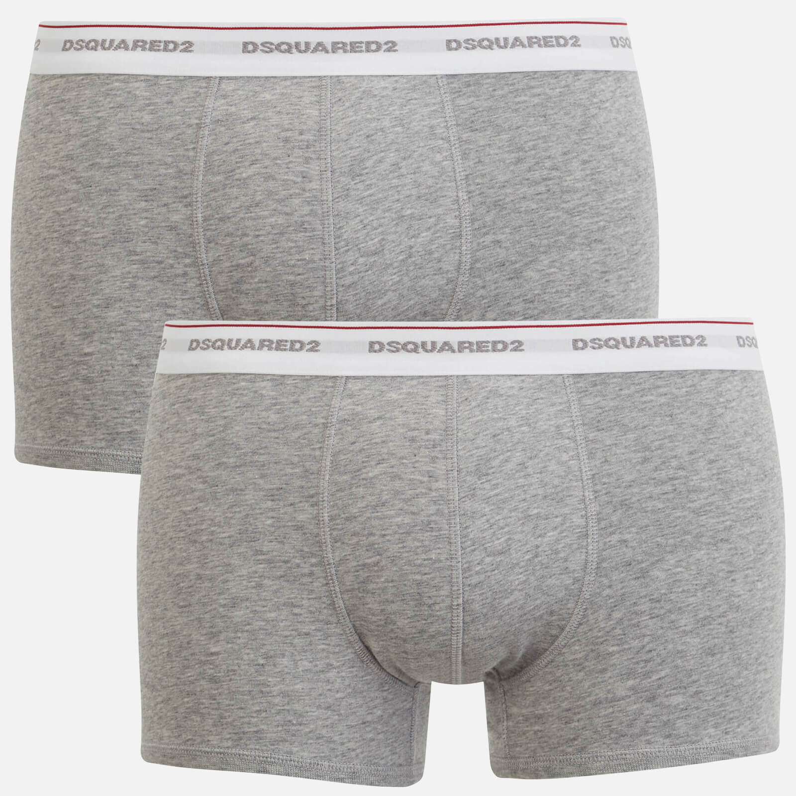 DSquared2 3-Pack Jersey Cotton Stretch Men/'s Low-rise Briefs White