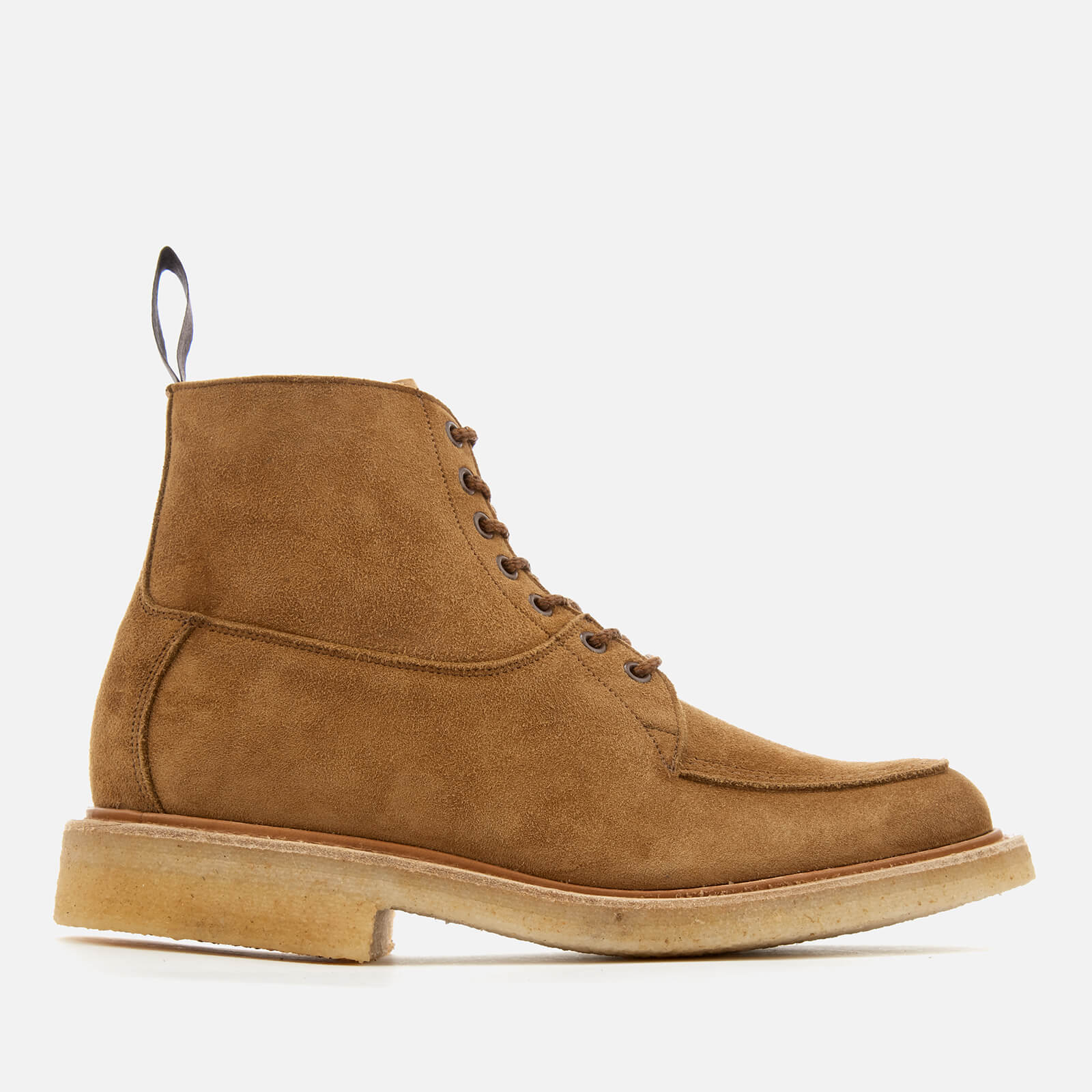 Leo Suede Lace Up Boots - Kudu
