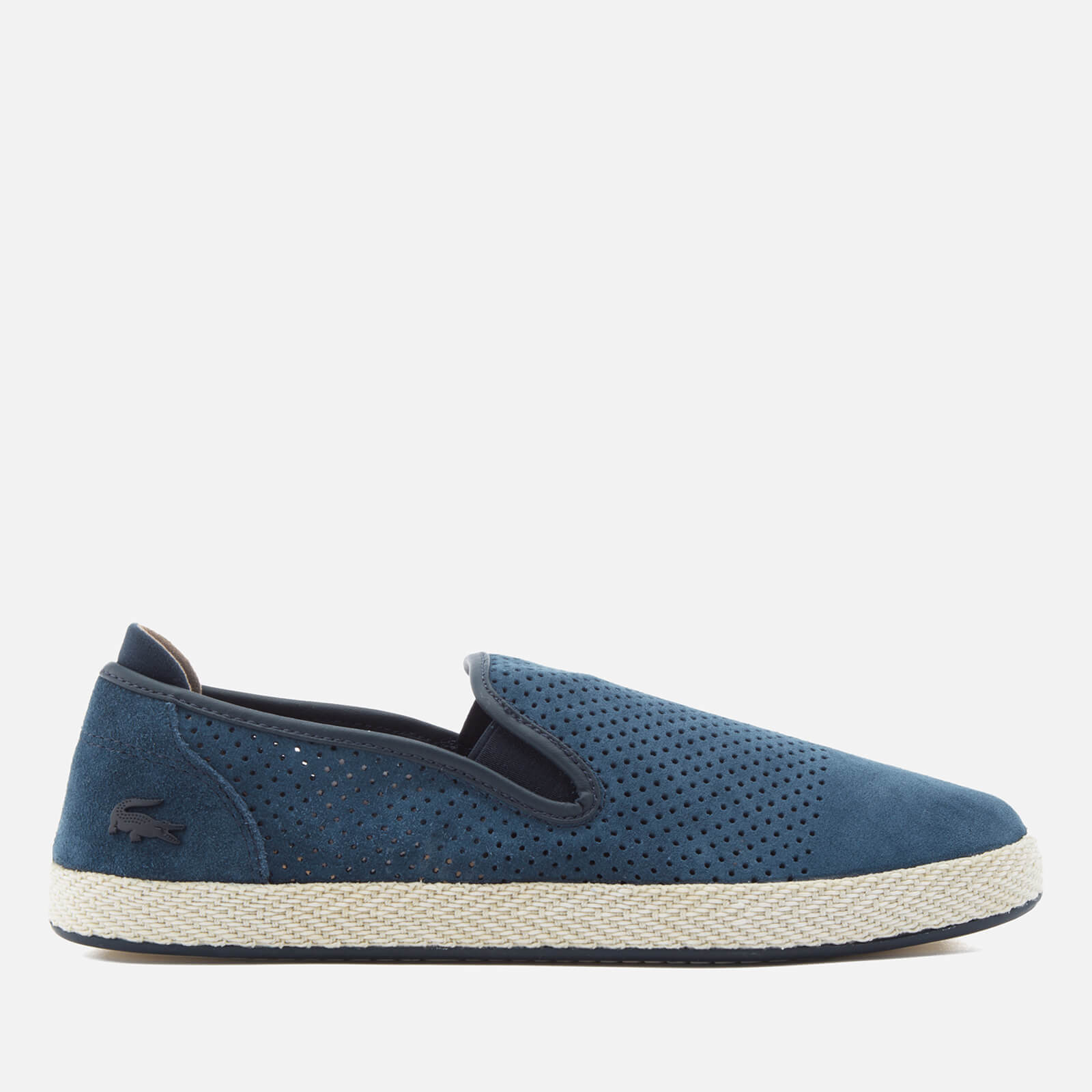 ed654198d Lacoste Men s Tombre Slip-On 117 Espadrilles - Navy - Free UK Delivery over  £50
