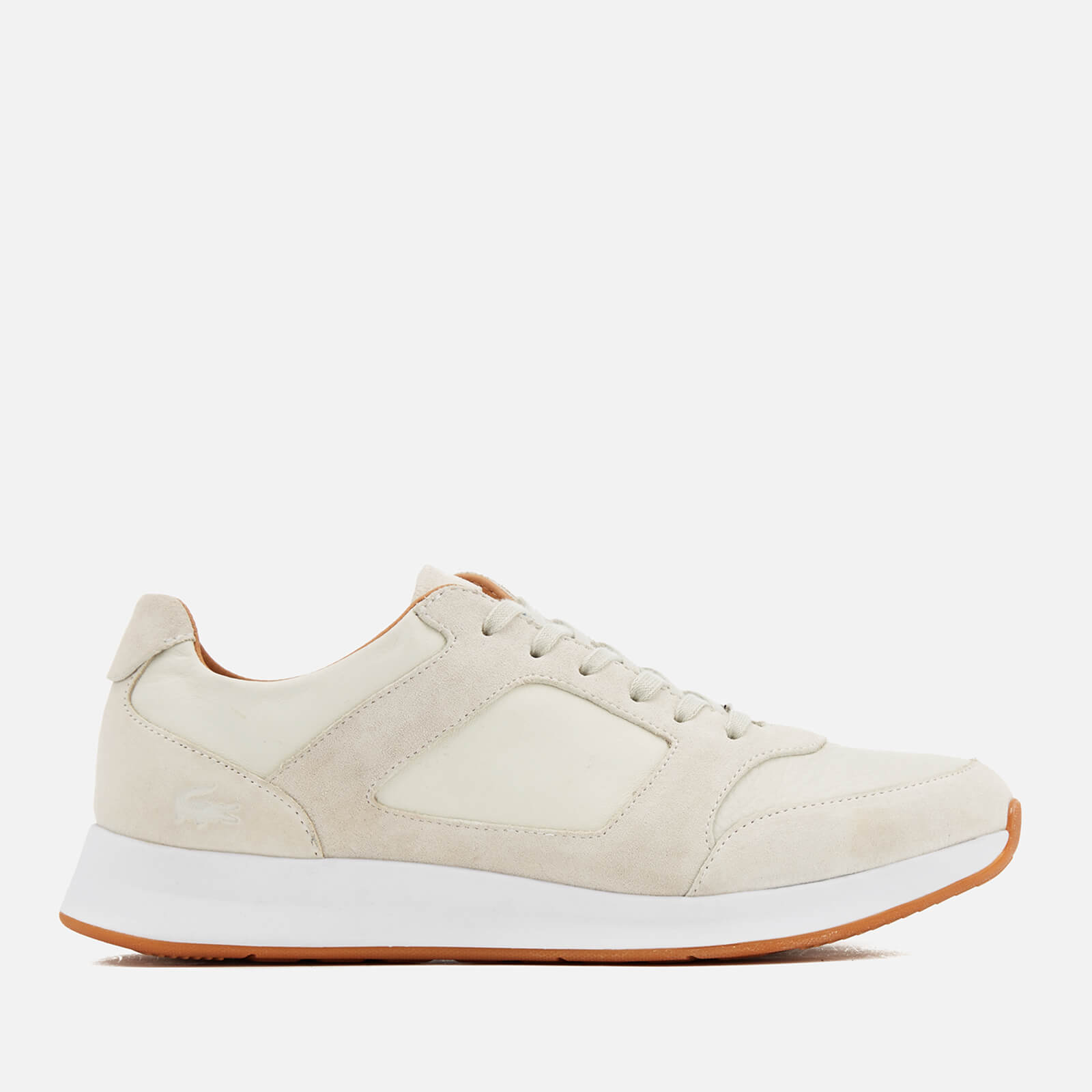 8e6cfd4e5 Lacoste Men s Joggeur 116 Trainers - Off White - Free UK Delivery over £50