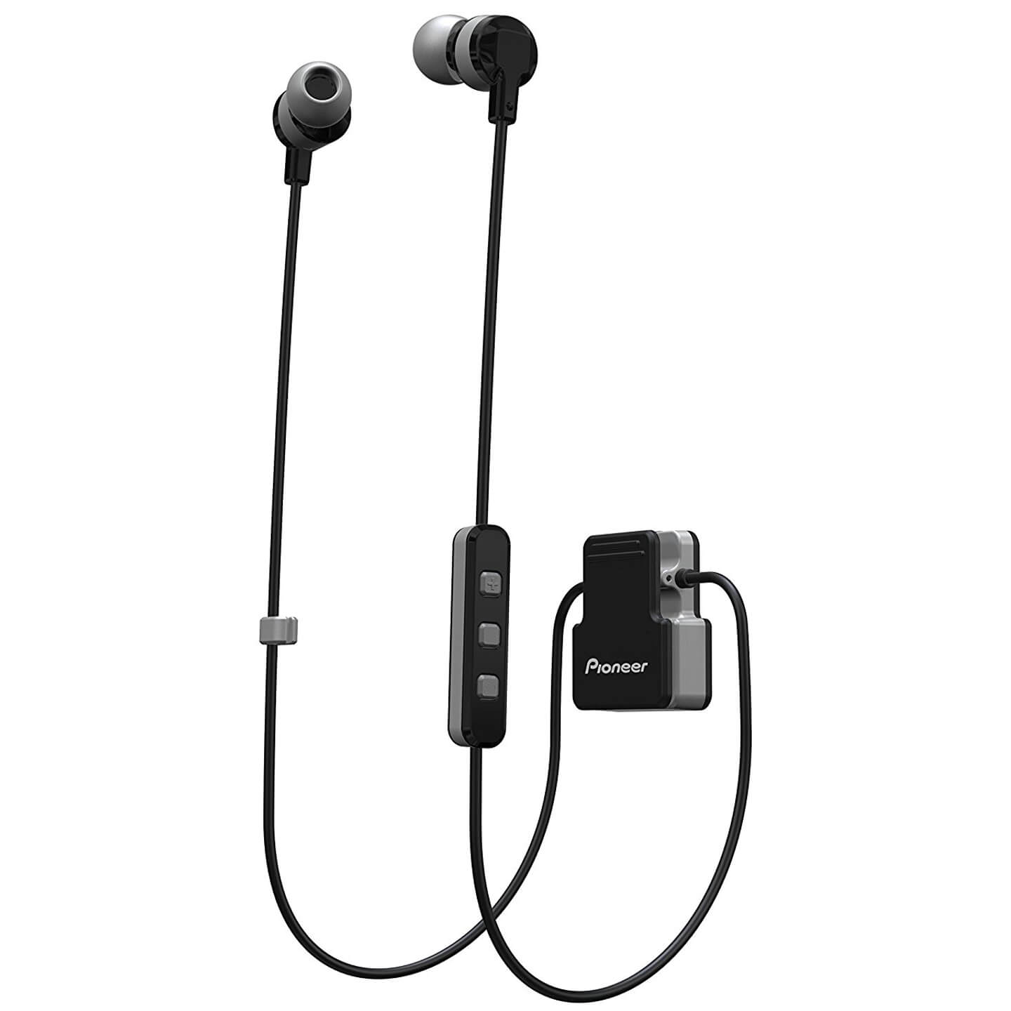 Pioneer SE-CL5BT-GR Wireless Bluetooth Earphones - Grey