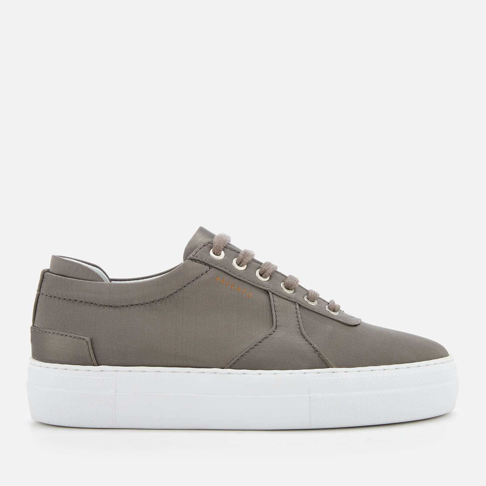 8565fa57d9c Axel Arigato Women s Platform Satin Trainers - Military - Free UK Delivery  over £50