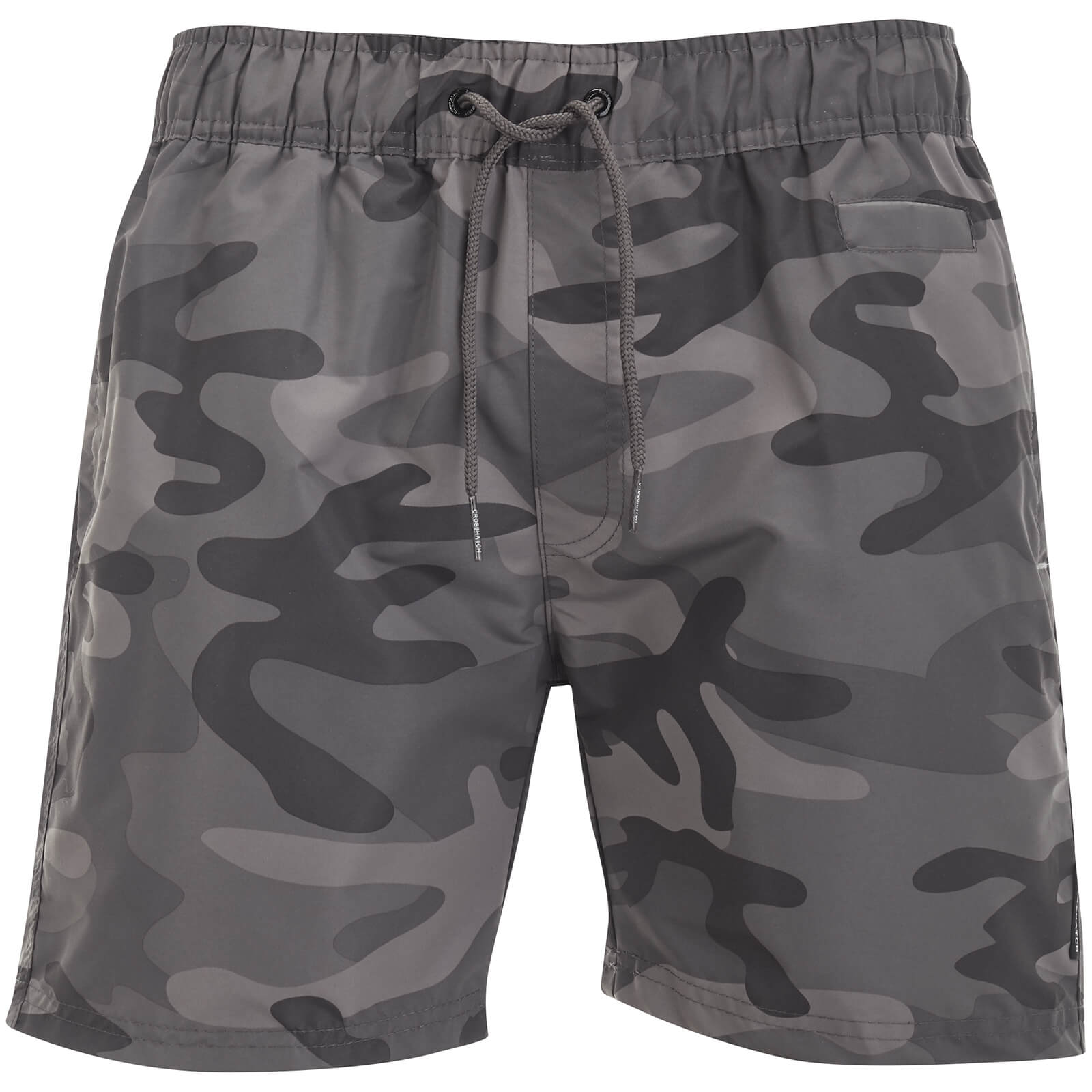 099ff4bf2f Crosshatch Men's Camo Swim Shorts - Charcoal Camo Mens Underwear   Zavvi