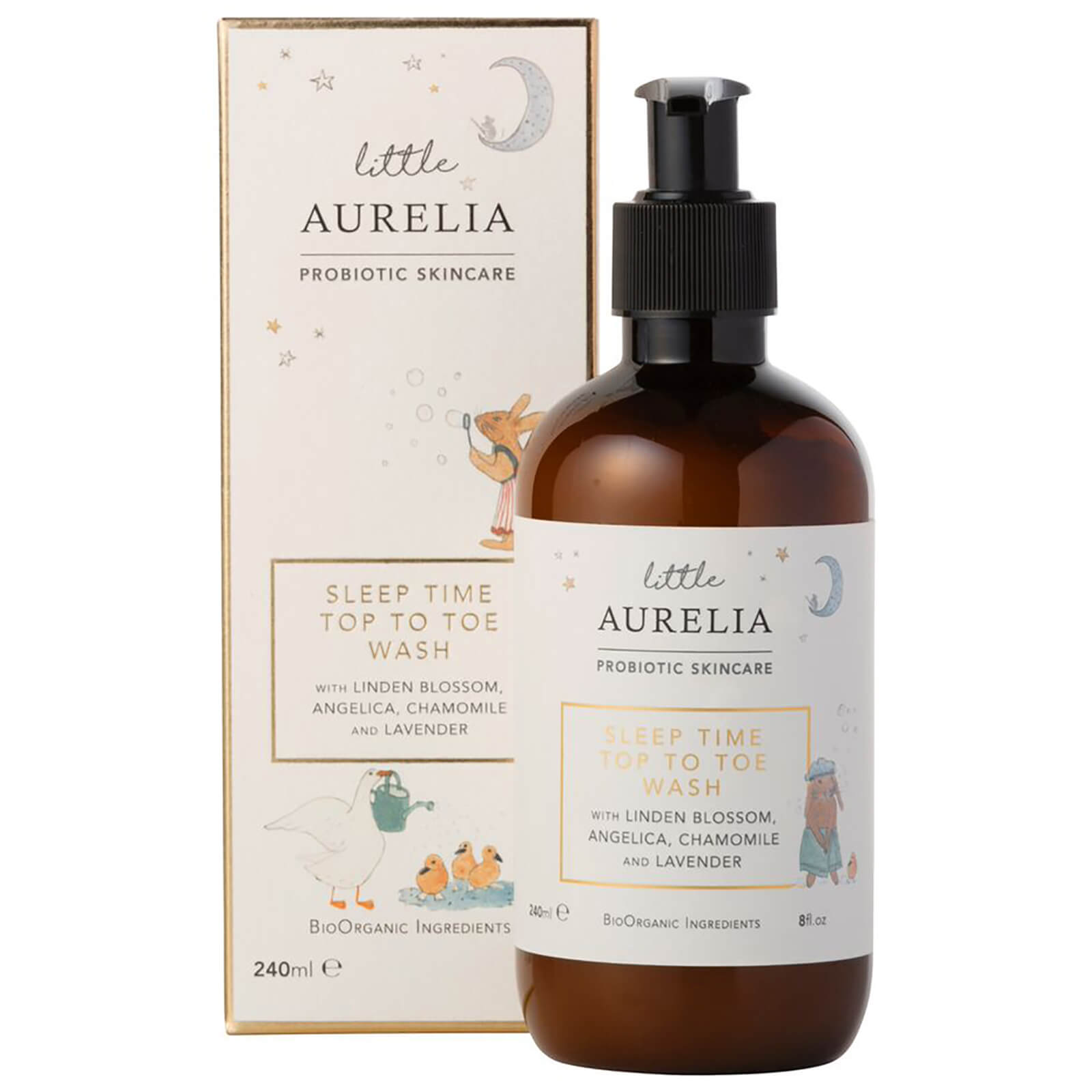 Little Aurelia From Probiotic Skincare Sleep Time Top To Toe Deryan Toddler Luxe Cream Pueter Travel Sleeping Cot Bed Product Description