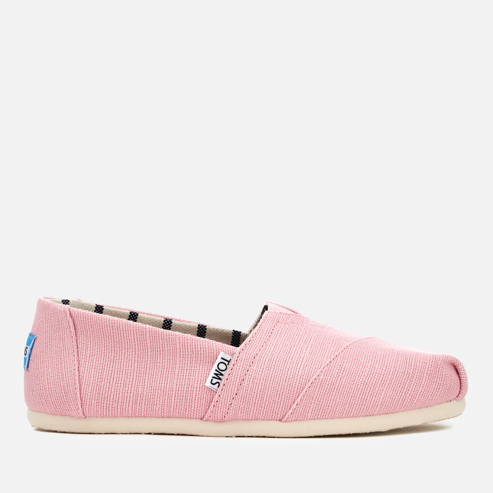 1d1628da413 TOMS Women's Alpargata Slip-On Pumps - Powder Pink | FREE UK Delivery |  Allsole