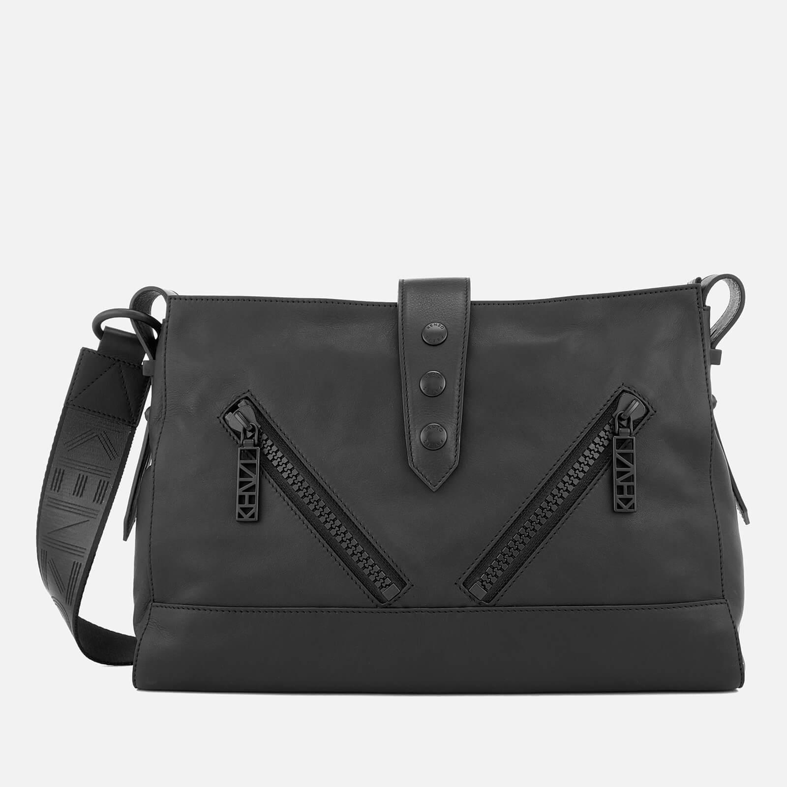 09cb7970 KENZO Women's Kalifornia Large Shoulder Bag - Black - Free UK Delivery over  £50