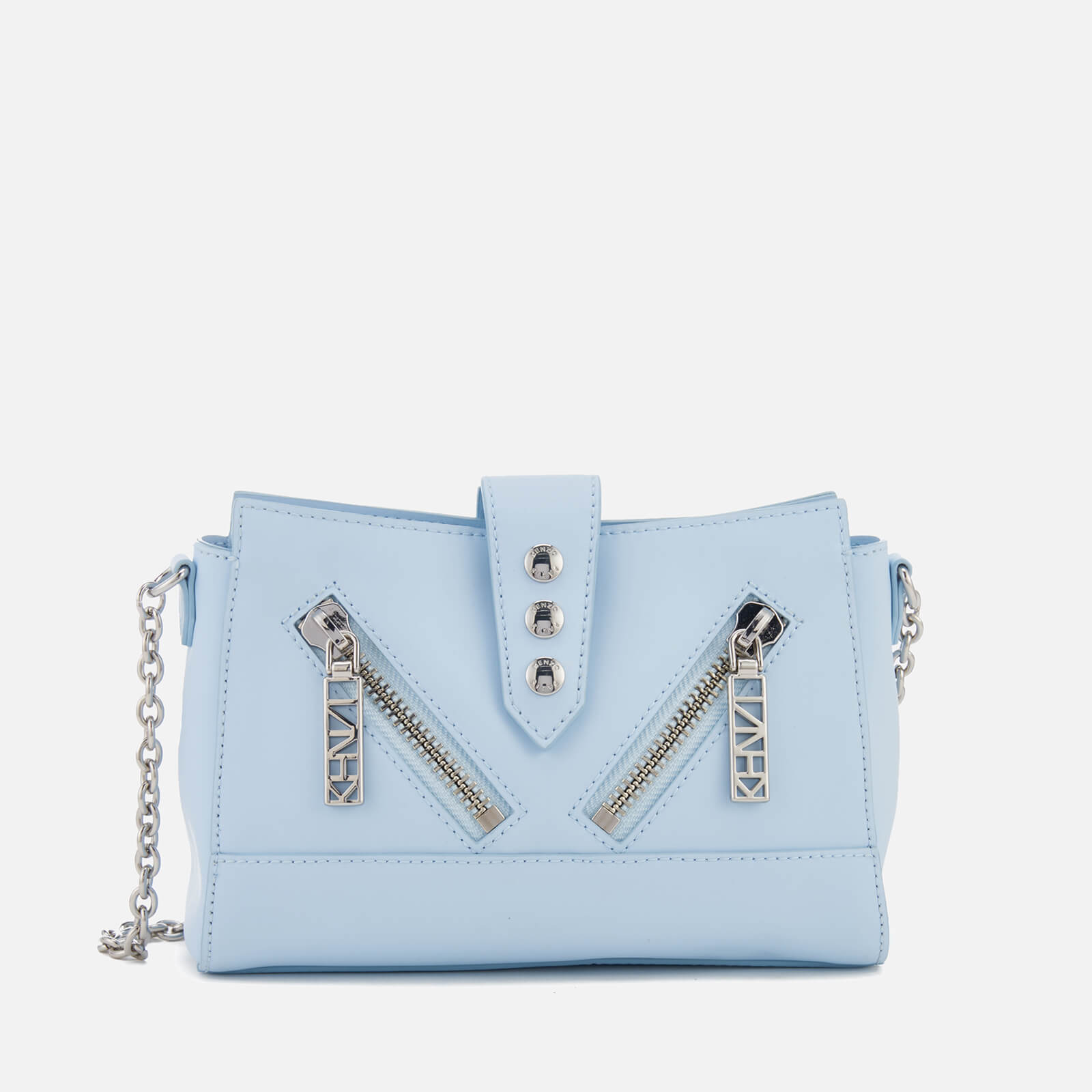 4a286c7b0cd KENZO Women's Kalifornia Mini Shoulder Bag - Sky Blue - Free UK Delivery  over £50